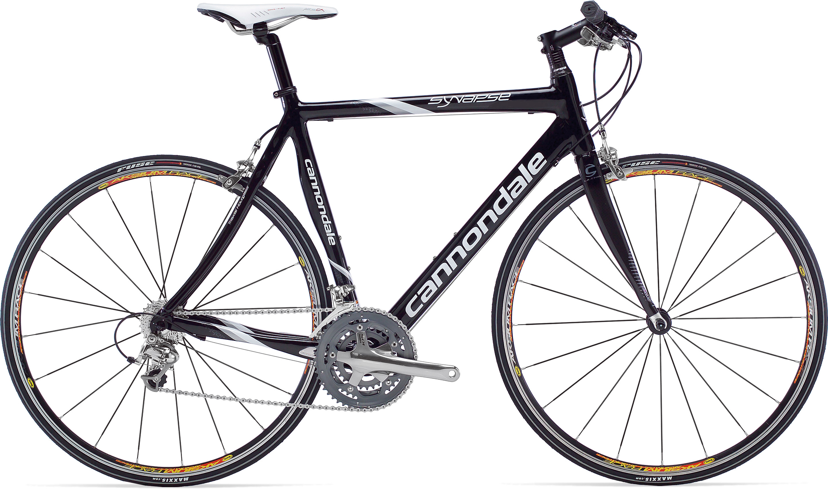cannondale synapse carbon flat bar 105 triple. Black Bedroom Furniture Sets. Home Design Ideas