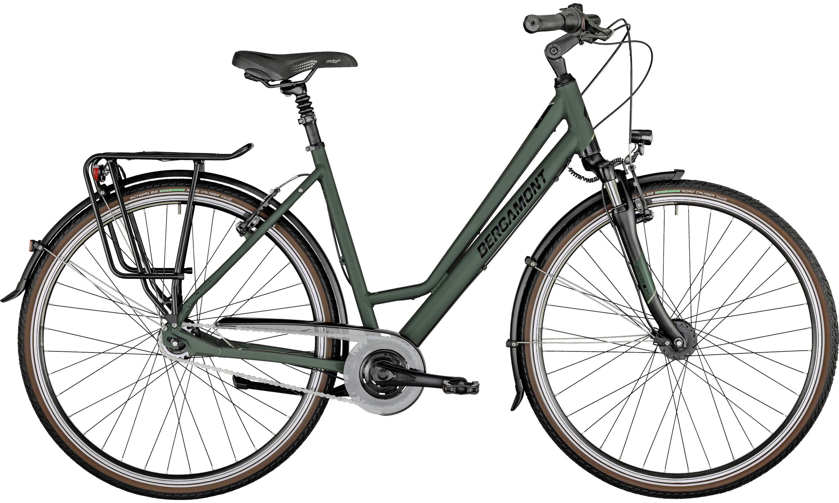 Horizon N7 CB Amsterdam green | Bouticycle