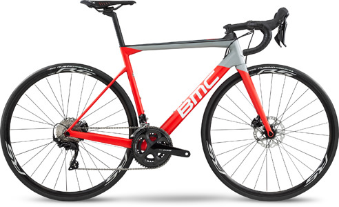 Bmc Teammachine SLR02 DISC FOUR (105) red wht gry