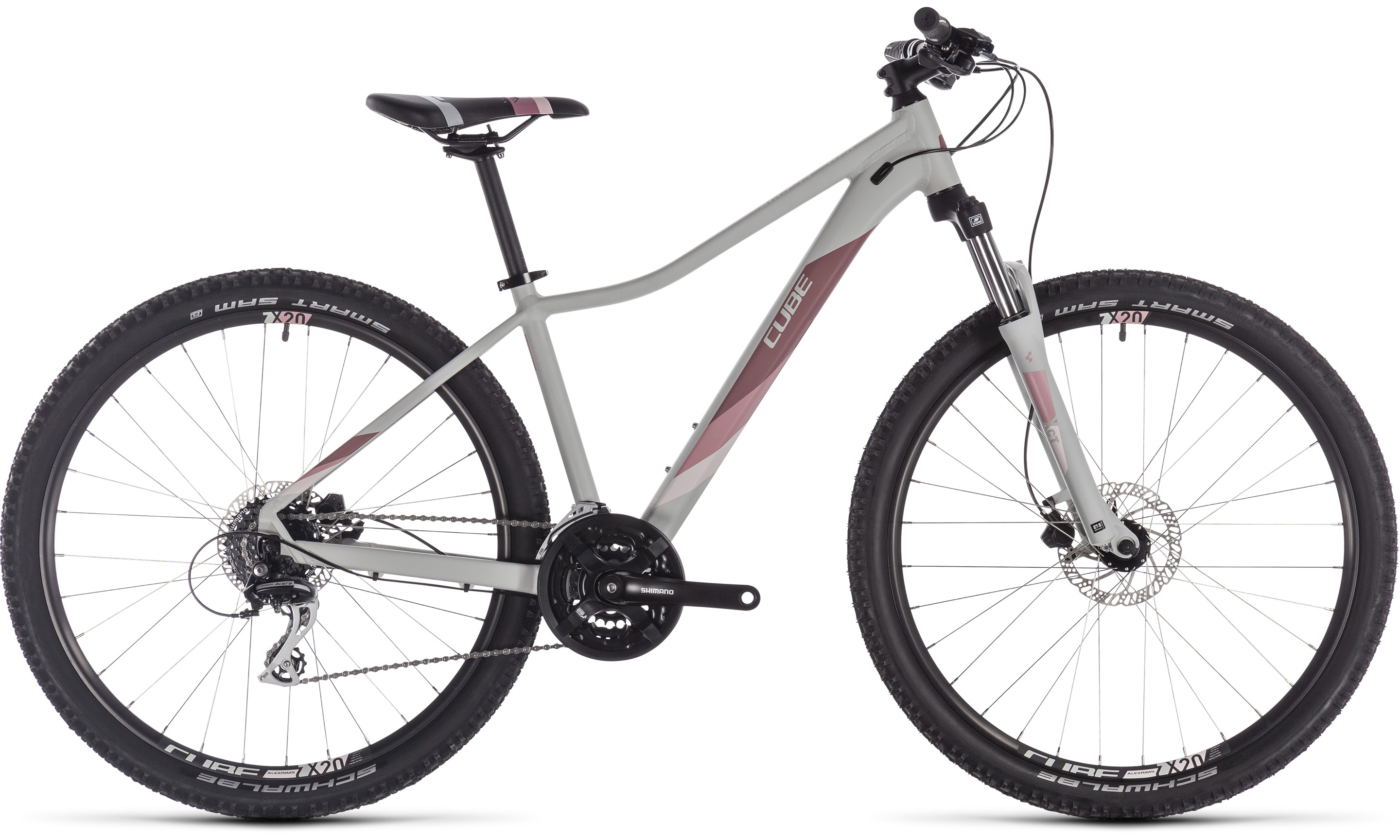 Cube Access WS EAZ lightgrey´n´rose | Vélo Station