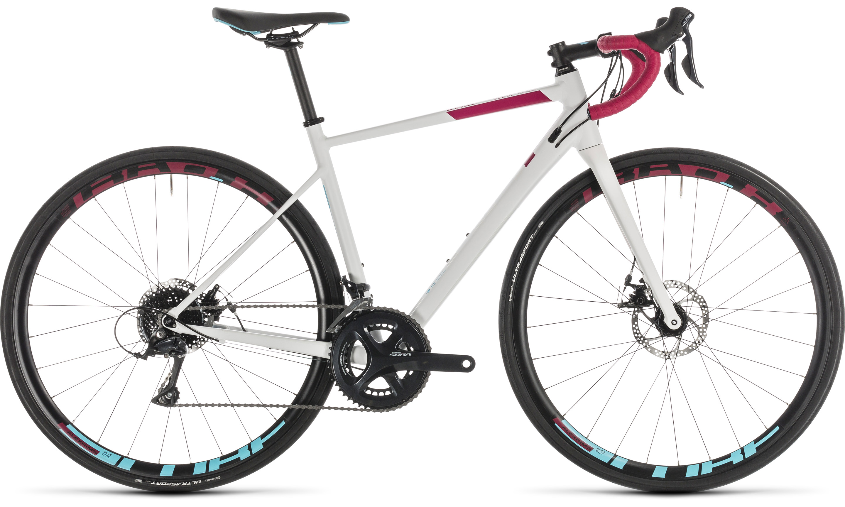 Cube Axial WS Pro Disc white´n´berry | Vélo Station