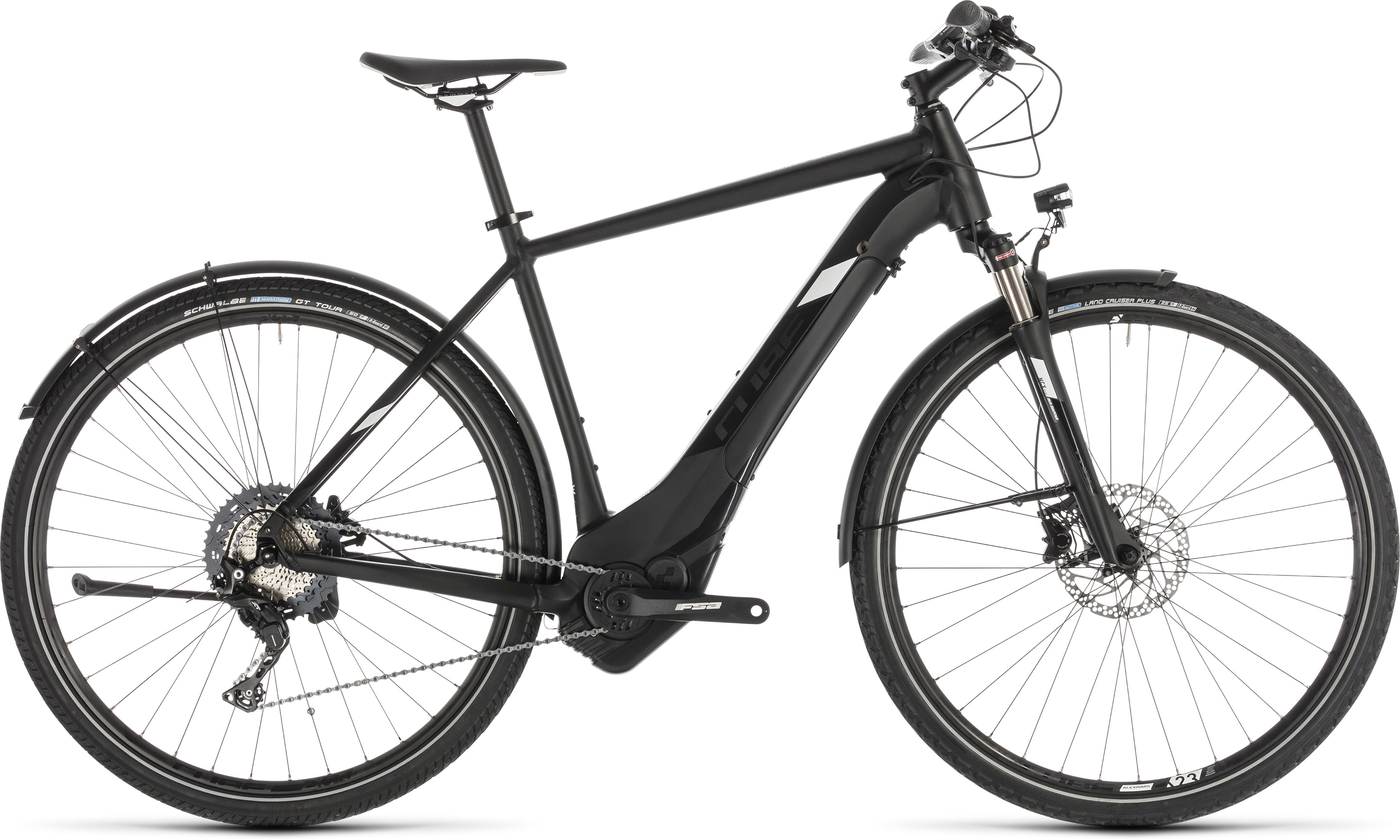 Cube Cross Hybrid Race 500 Allroad black´n´white | Vélo Station