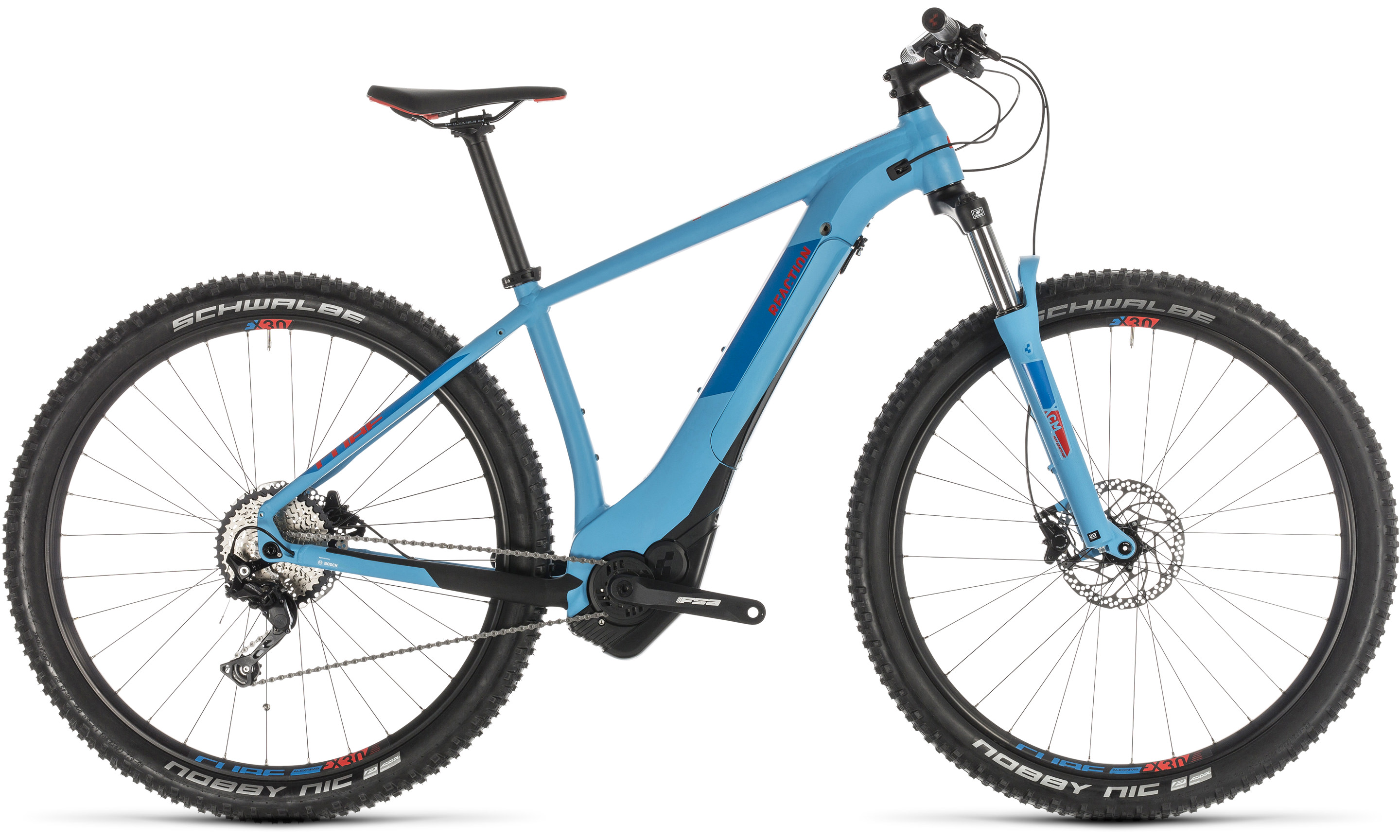 Cube Reaction Hybrid EXC 500 blue´n´red | Vélo Station