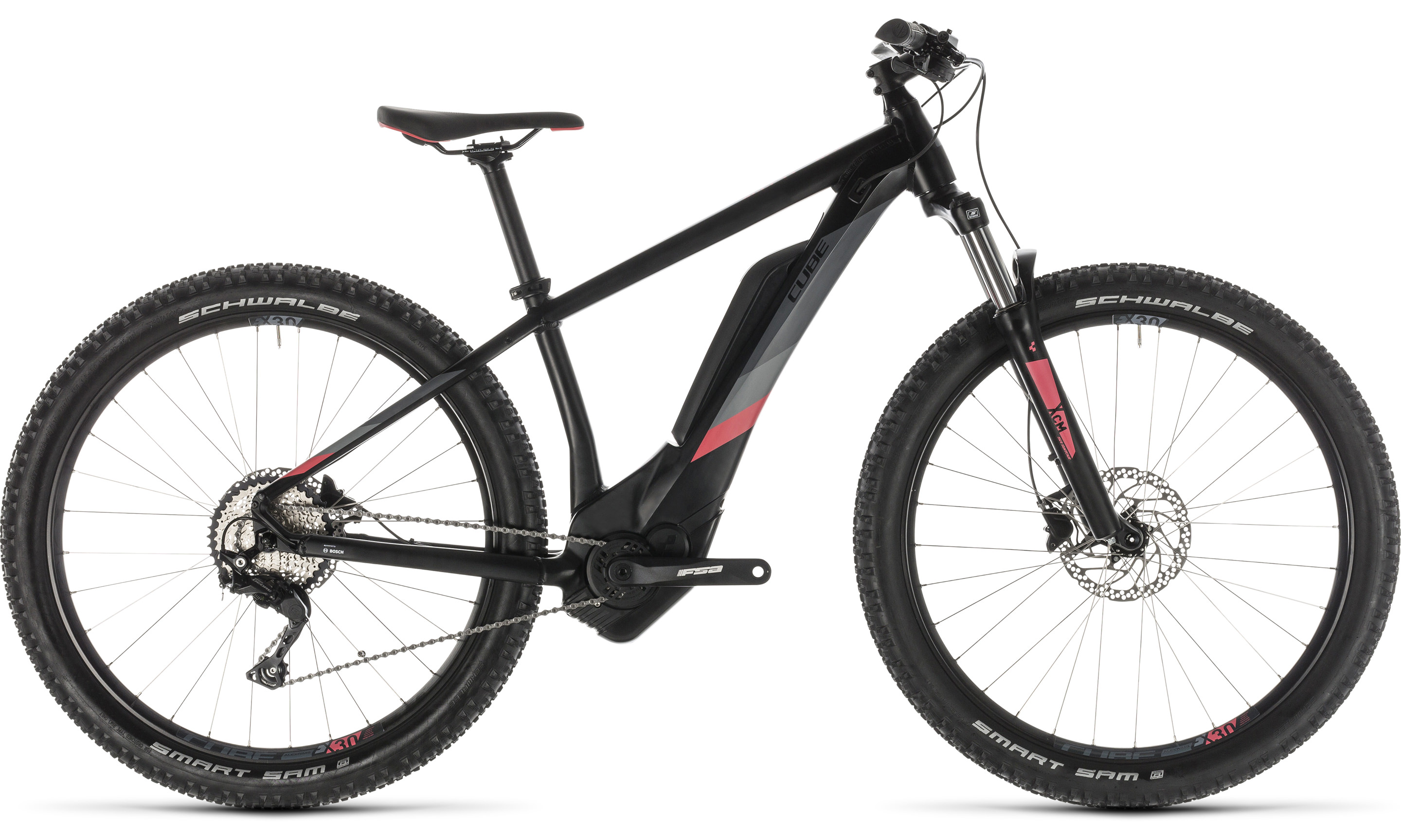 Cube Access Hybrid Pro 500 black´n´coral | Vélo Station