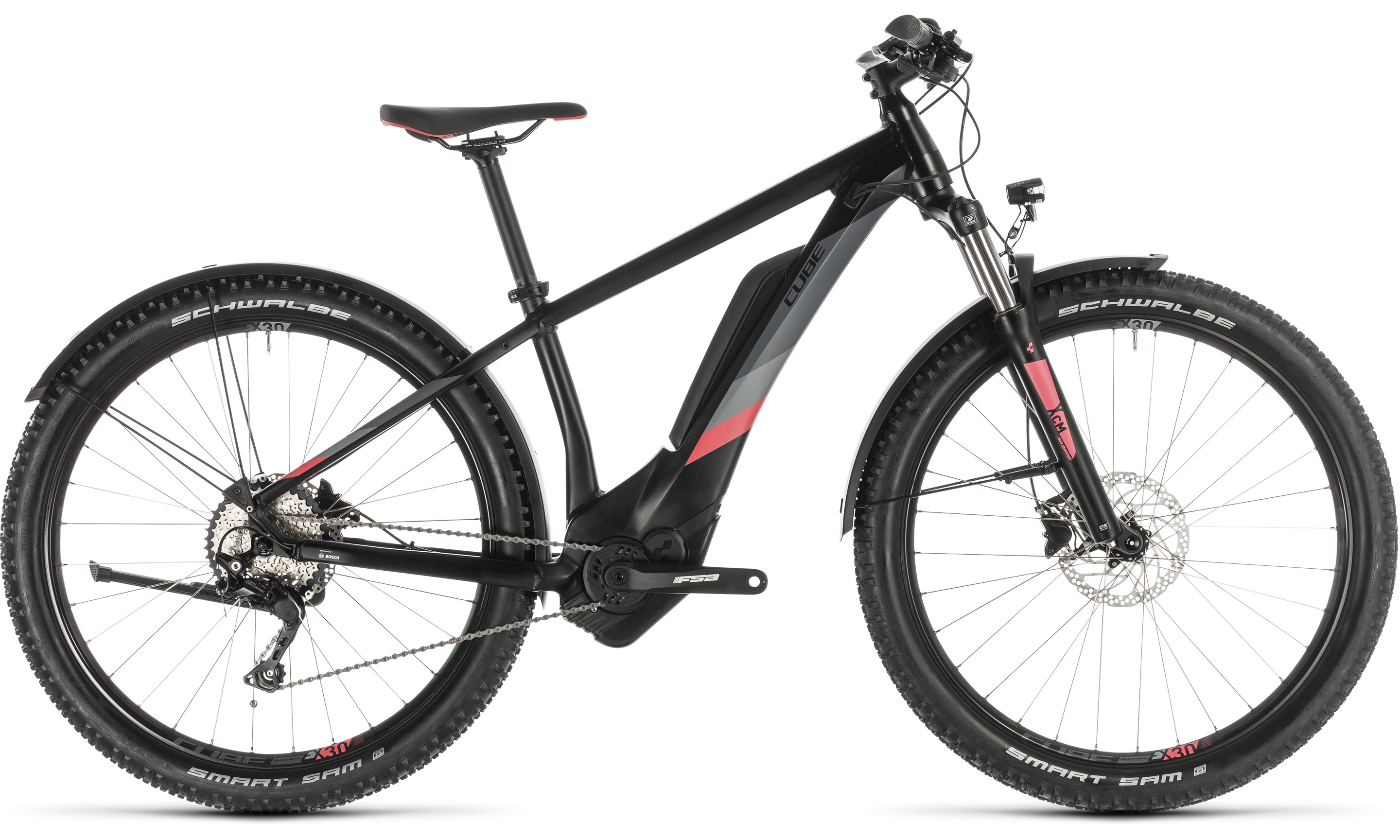 Cube Access Hybrid Pro 500 Allroad black´n´coral | Vélo Station