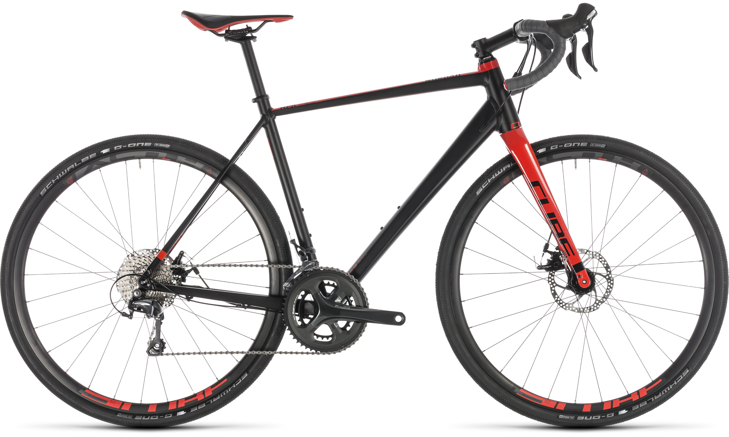 Cube Nuroad Pro black´n´red | Vélo Station