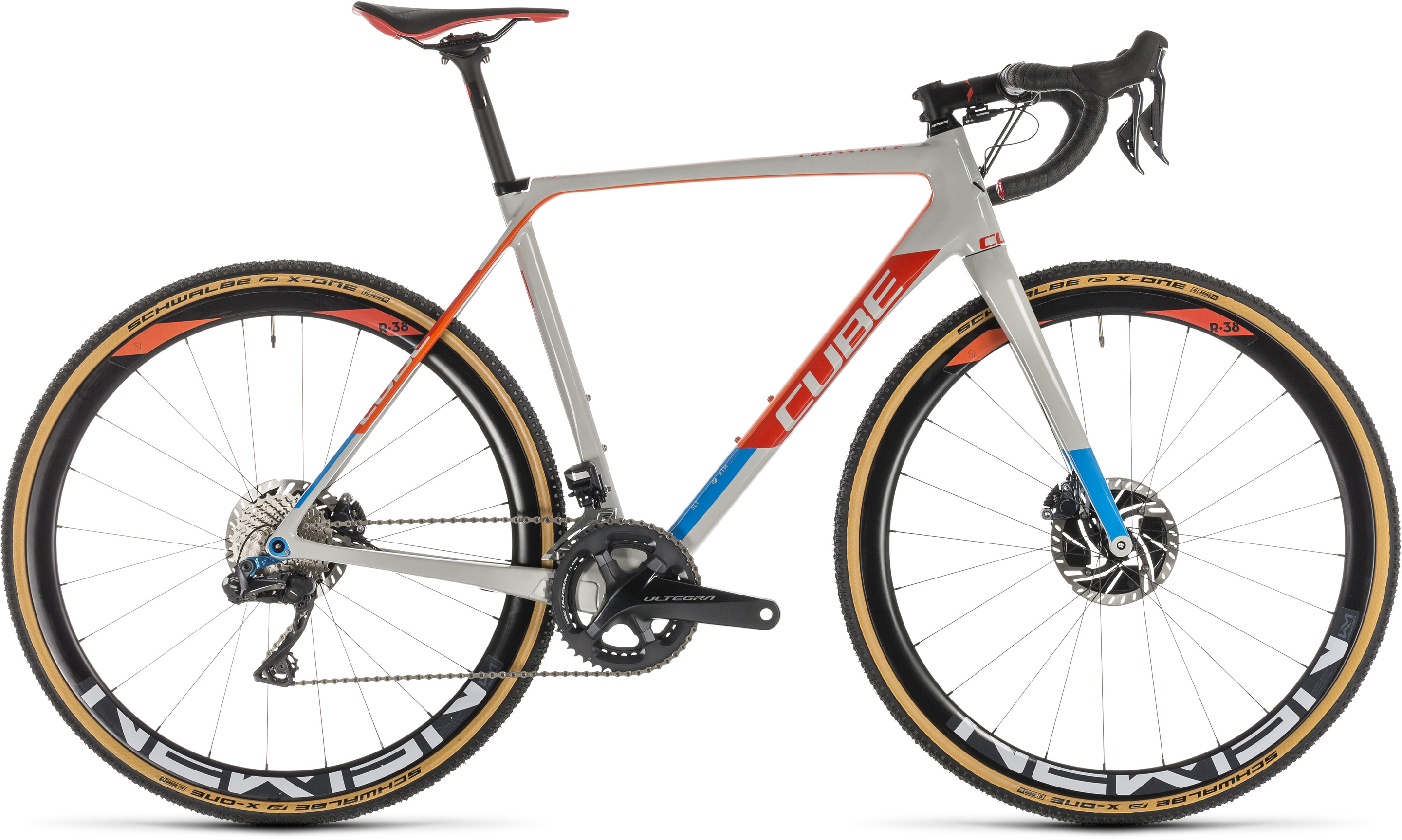 Cube Cross Race C:62 SLT grey´n´red | Vélo Station