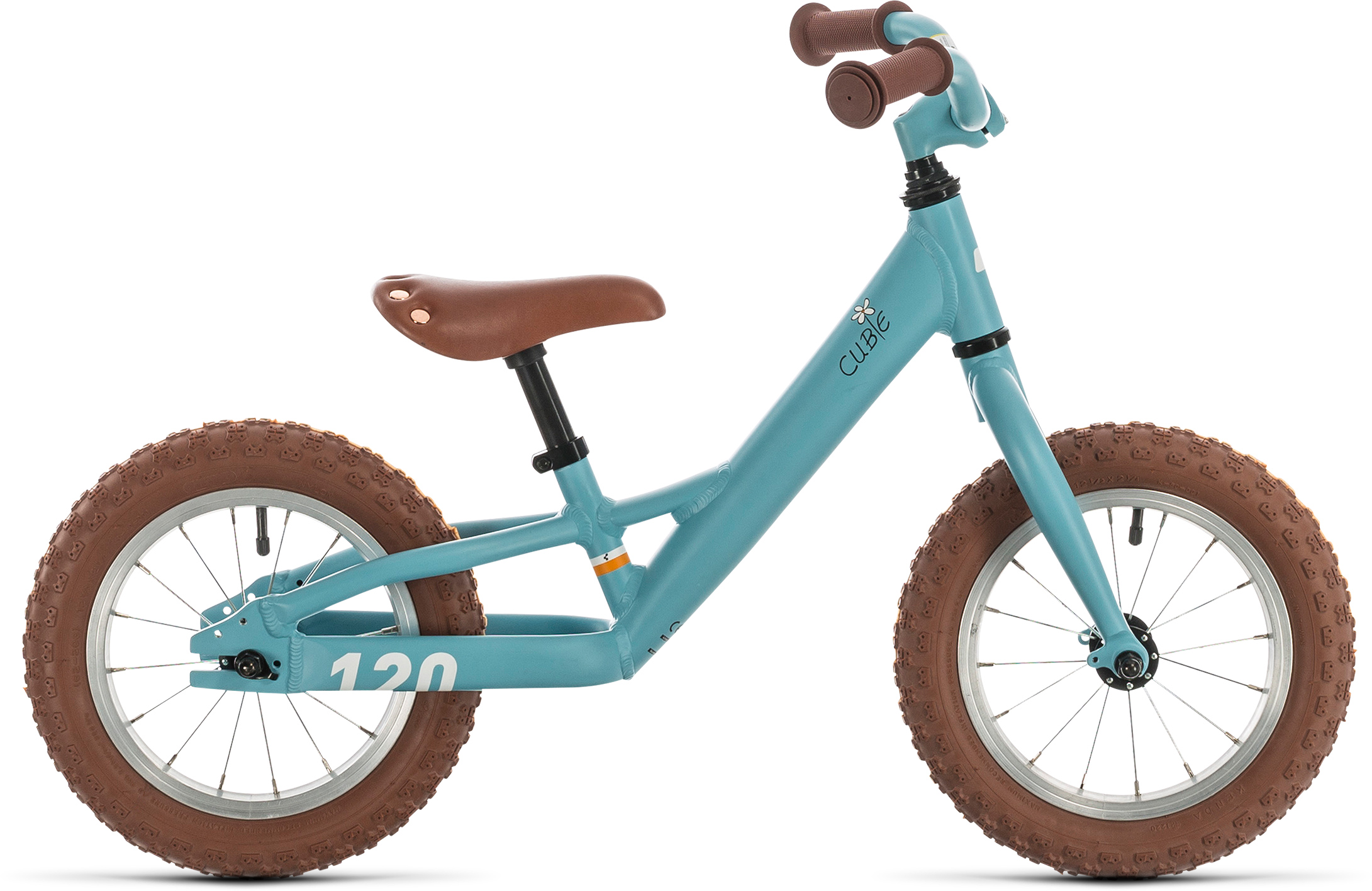 Cubie 120 walk girl lightblue´n´white | Bouticycle