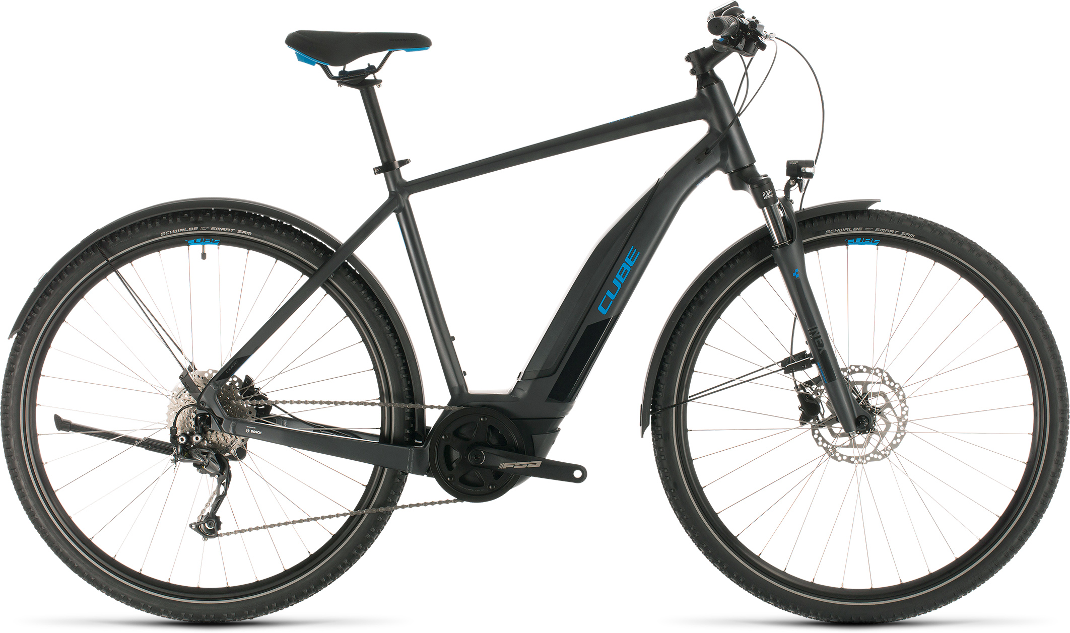 Nature Hybrid ONE 400 Allroad iridium´n´blue | Bouticycle