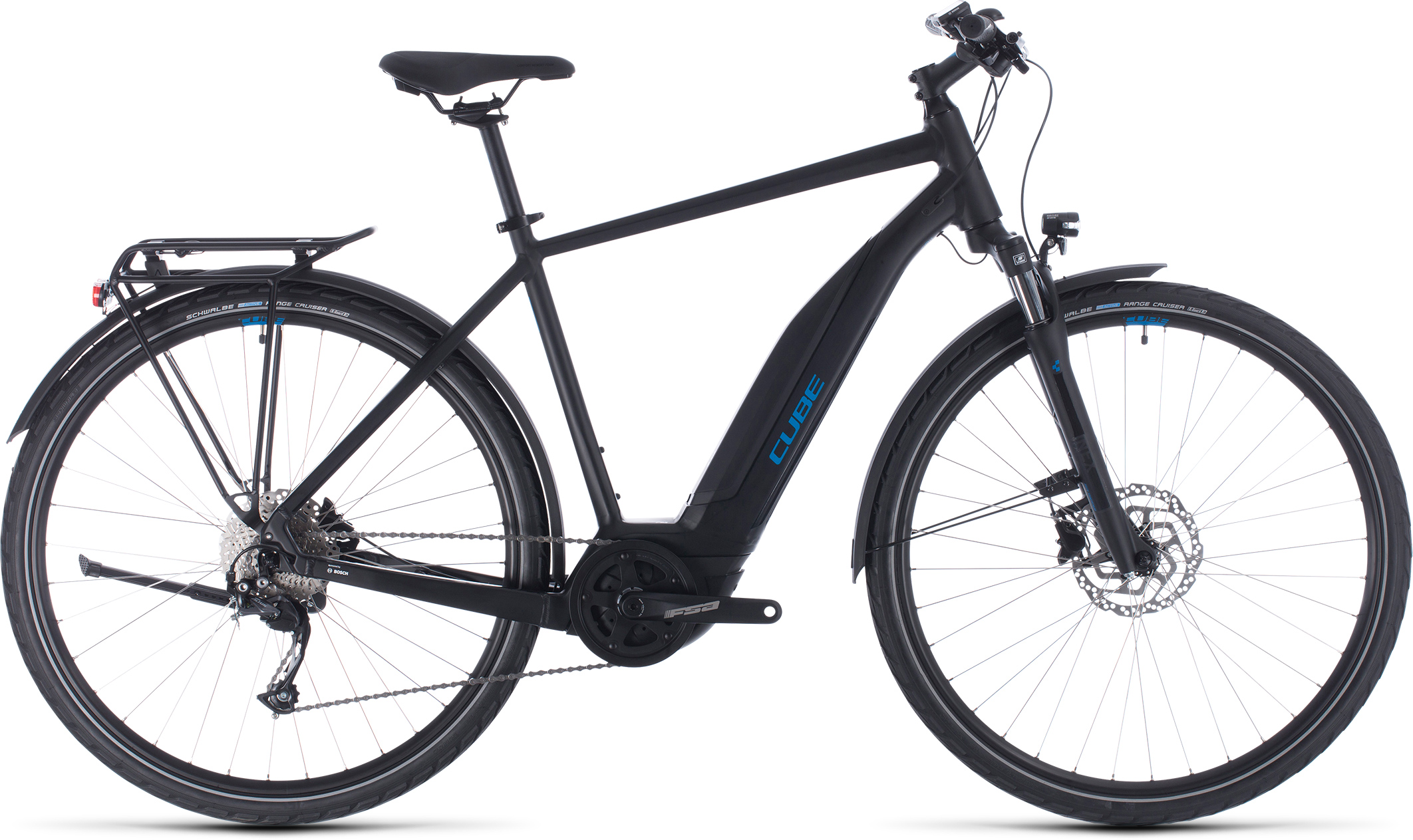 Touring Hybrid ONE 400 black´n´blue | Bouticycle