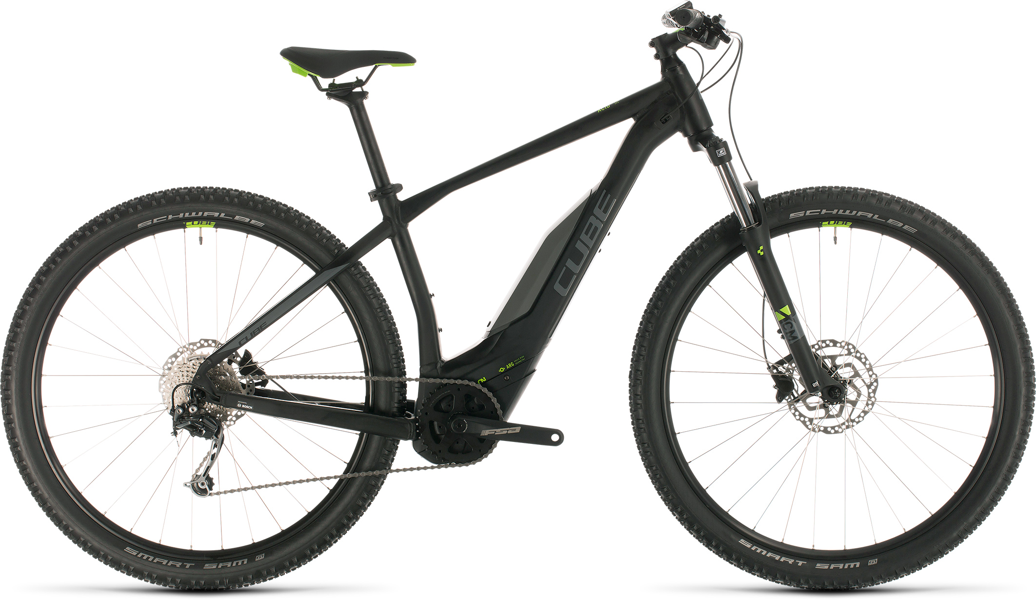 Acid Hybrid ONE 400 29 black´n´green | Bouticycle