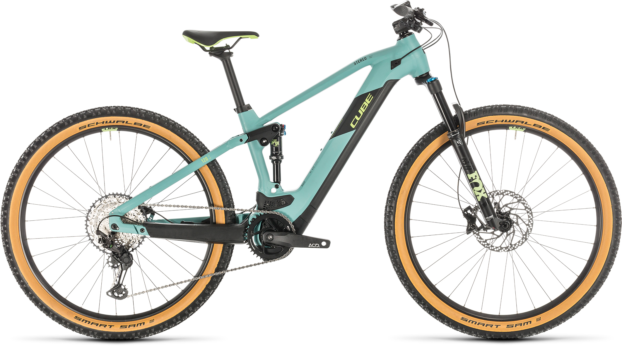 Stereo Hybrid 120 Race 625 29 frozengreen´n´green | Vélo Station