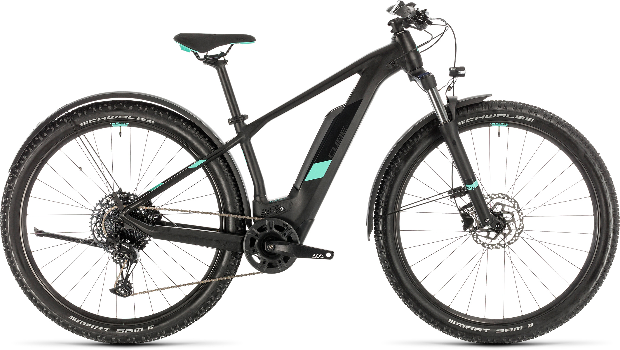 Access Hybrid Pro 500 Allroad black´n´mint | Vélo Station
