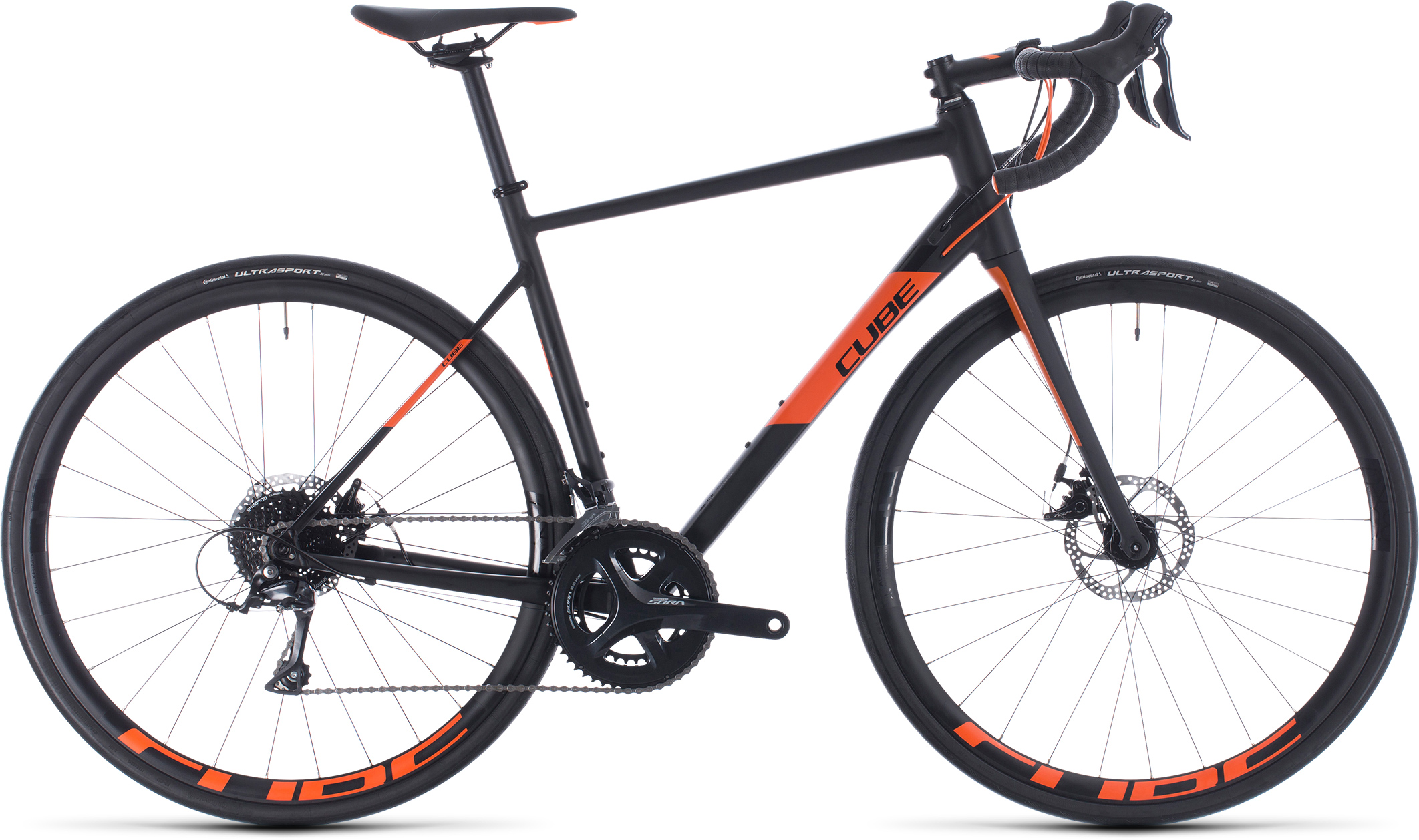 Attain Pro noir et orange | Vélo Station