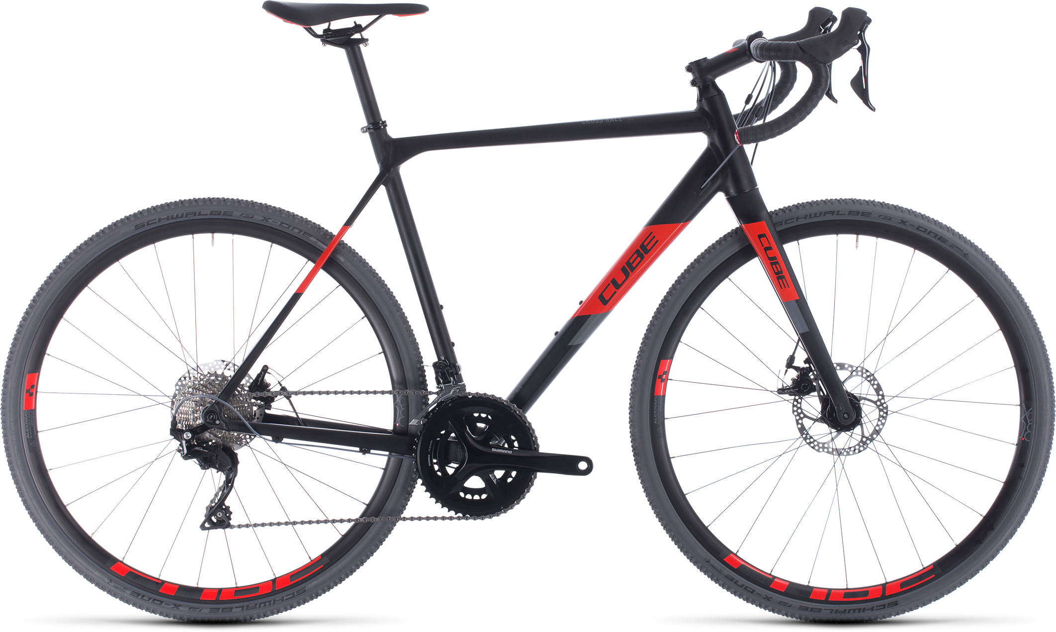 Cross Race noir-rouge | Bouticycle