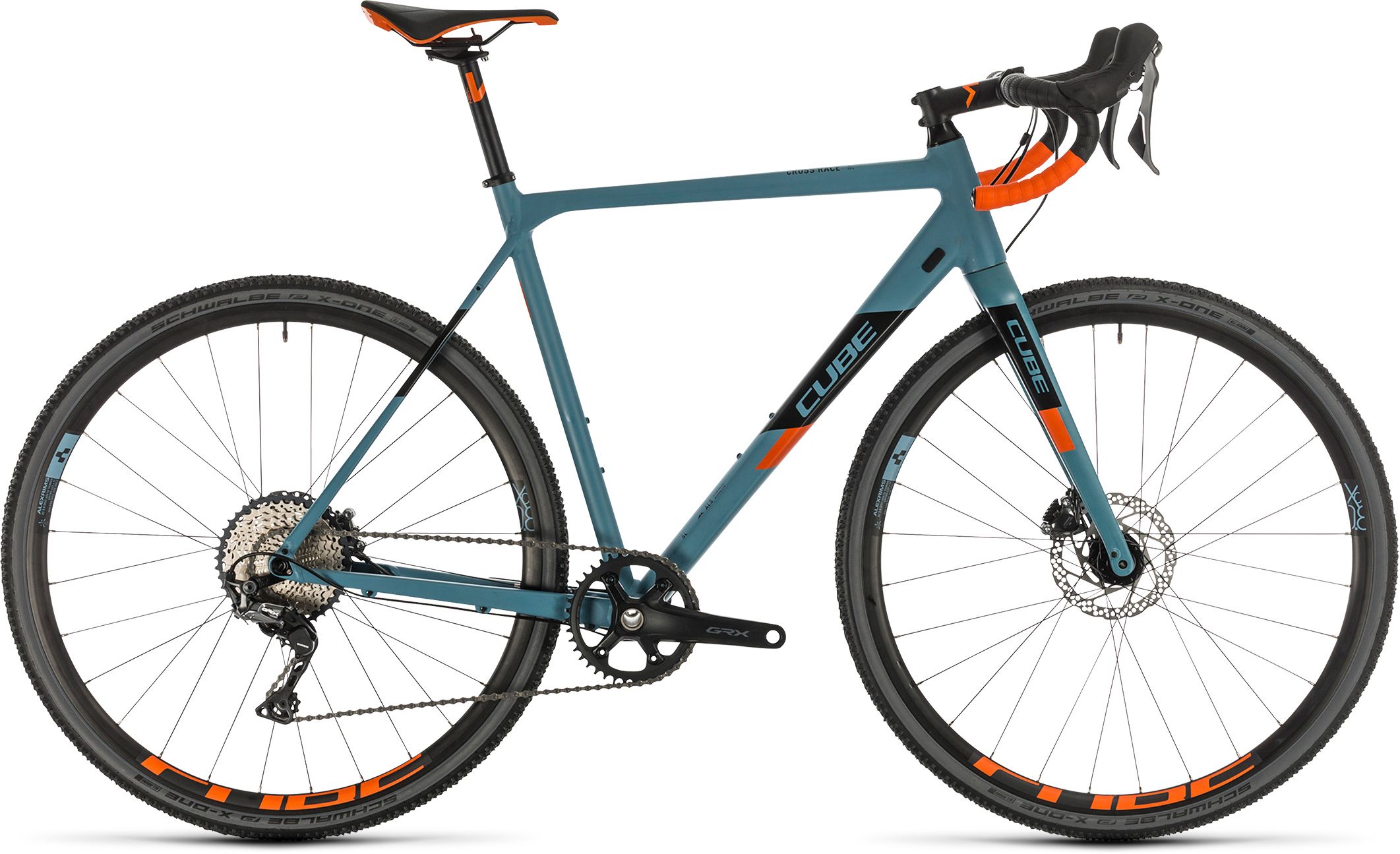 Cross Race SL bluegrey´n´orange | Bouticycle