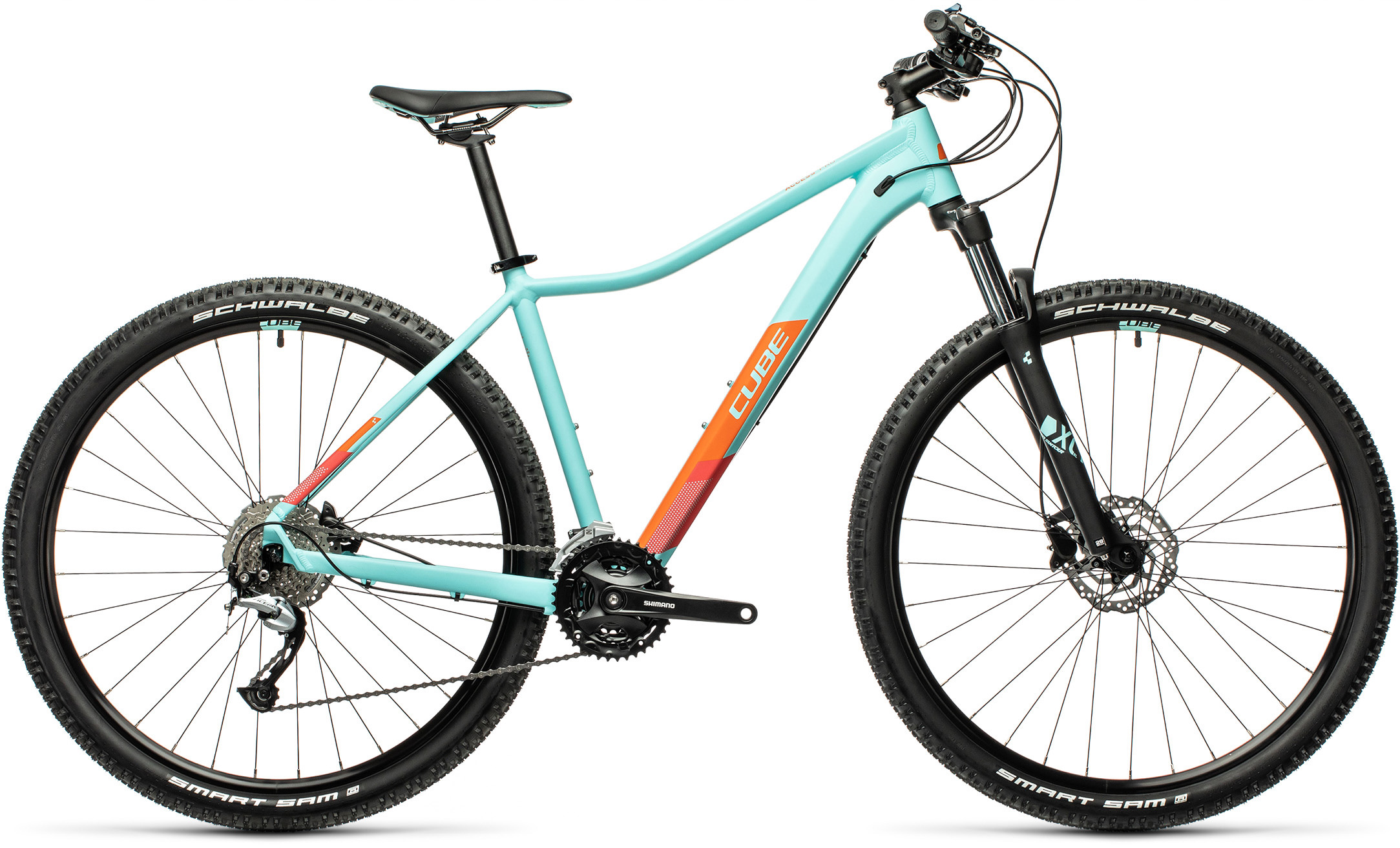 Access WS Pro iceblue´n´orange | Bouticycle