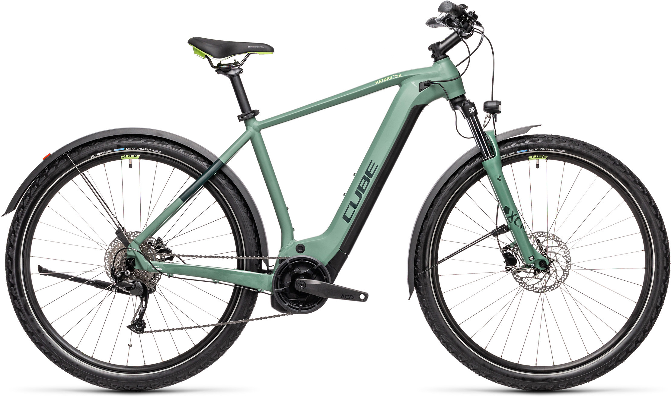 Nature Hybrid ONE 500 Allroad green´n´sharpgreen | Bouticycle