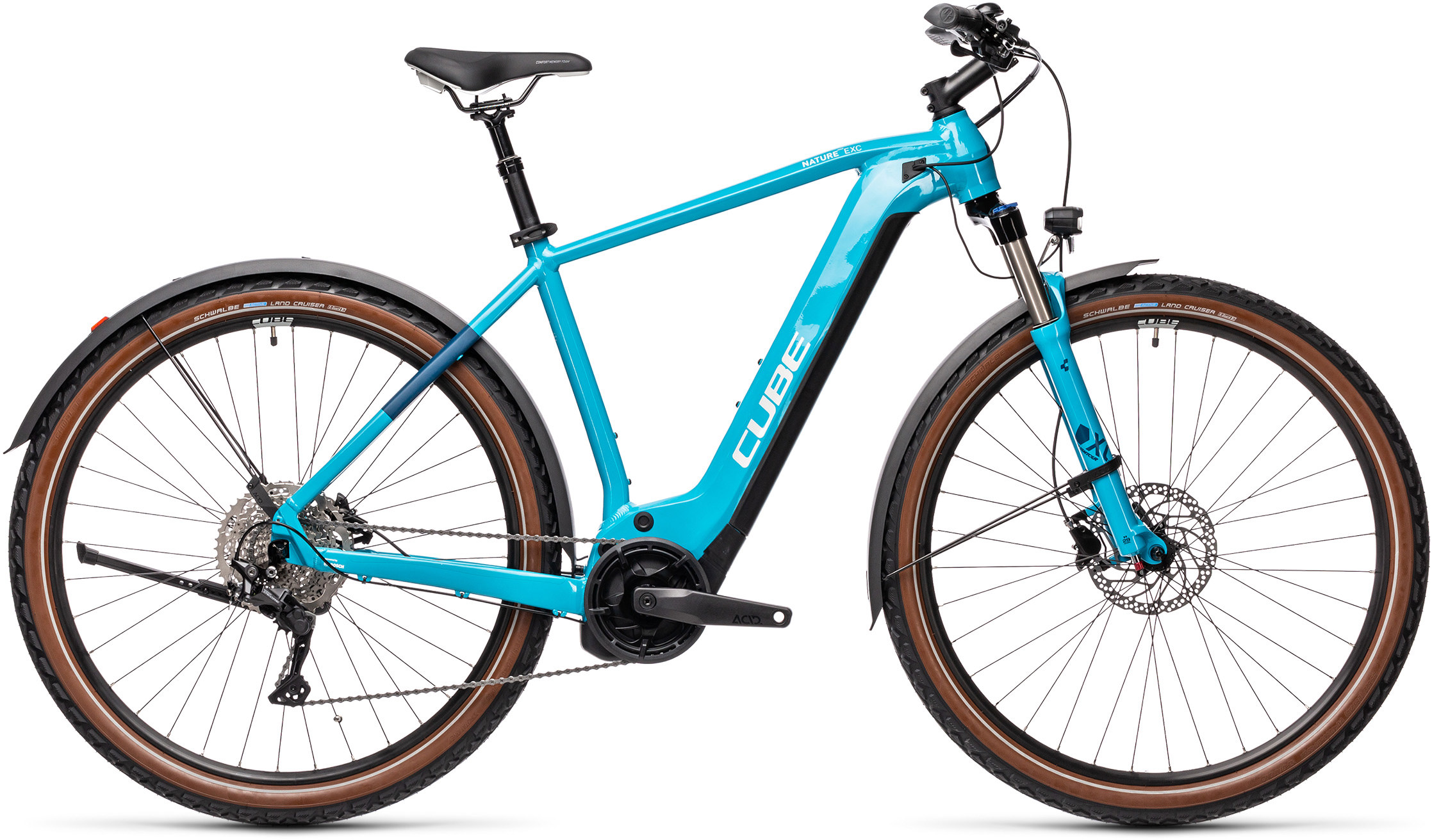 Nature Hybrid EXC 500 Allroad petrol´n´darkblue | Bouticycle