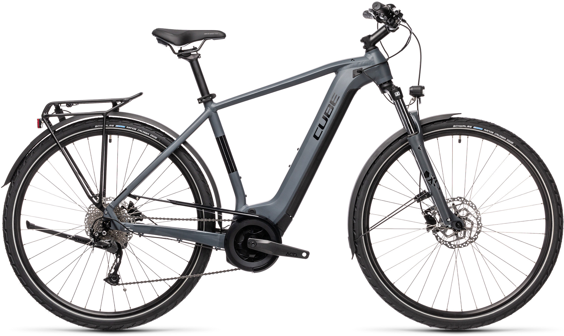 Touring Hybrid ONE 500 grey´n´black | Vélo Station