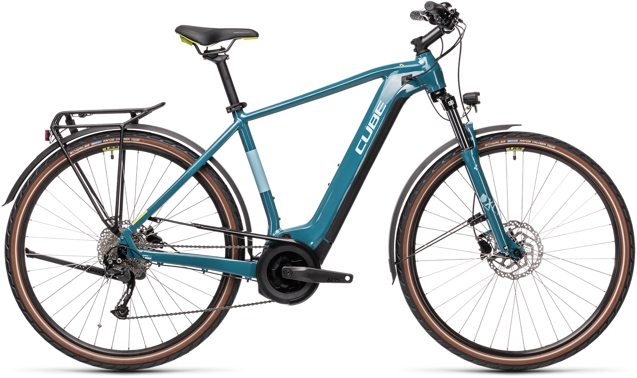Touring Hybrid ONE 400 blue´n´green | Vélo Station