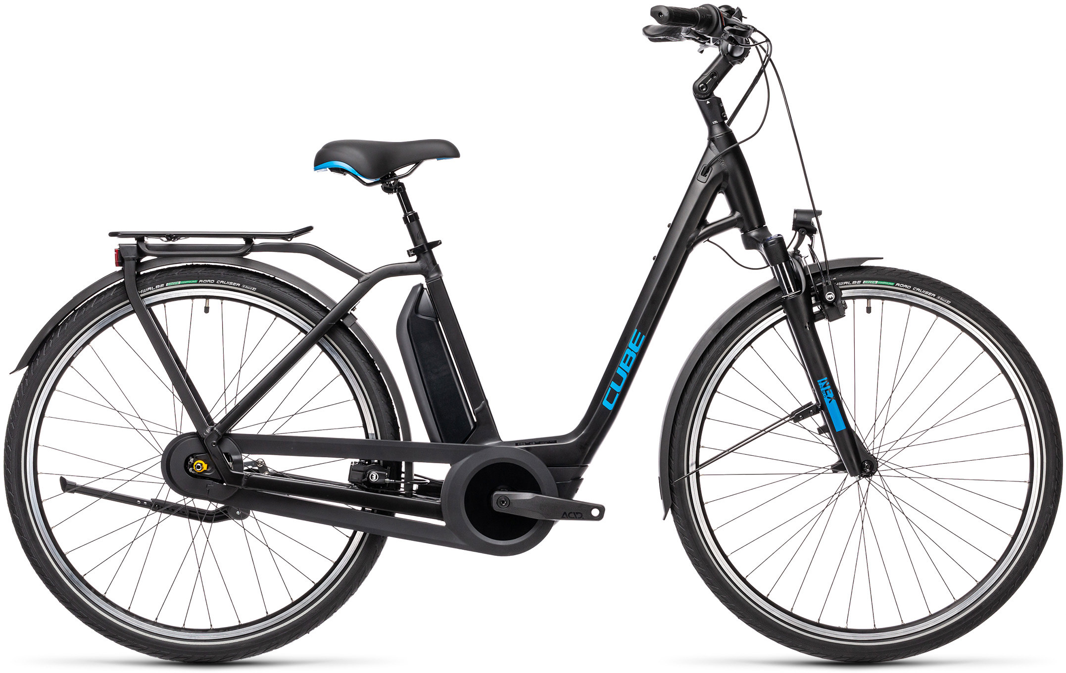 Town RT Hybrid Pro 500 black´n´blue | Vélo Station
