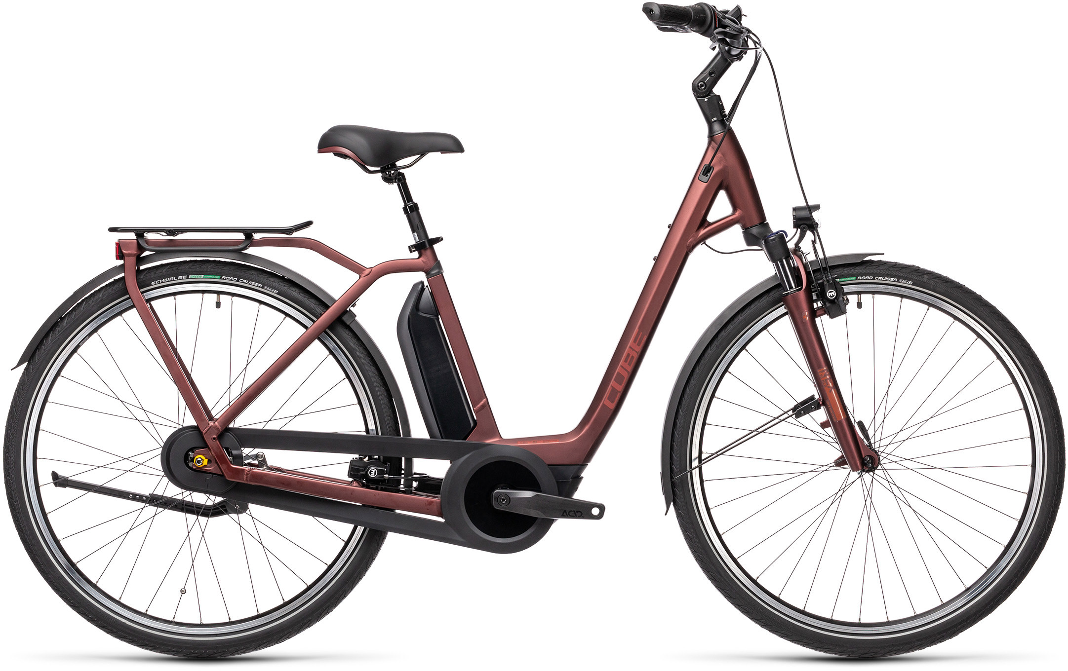 Town RT Hybrid Pro 500 red´n´red | Bouticycle