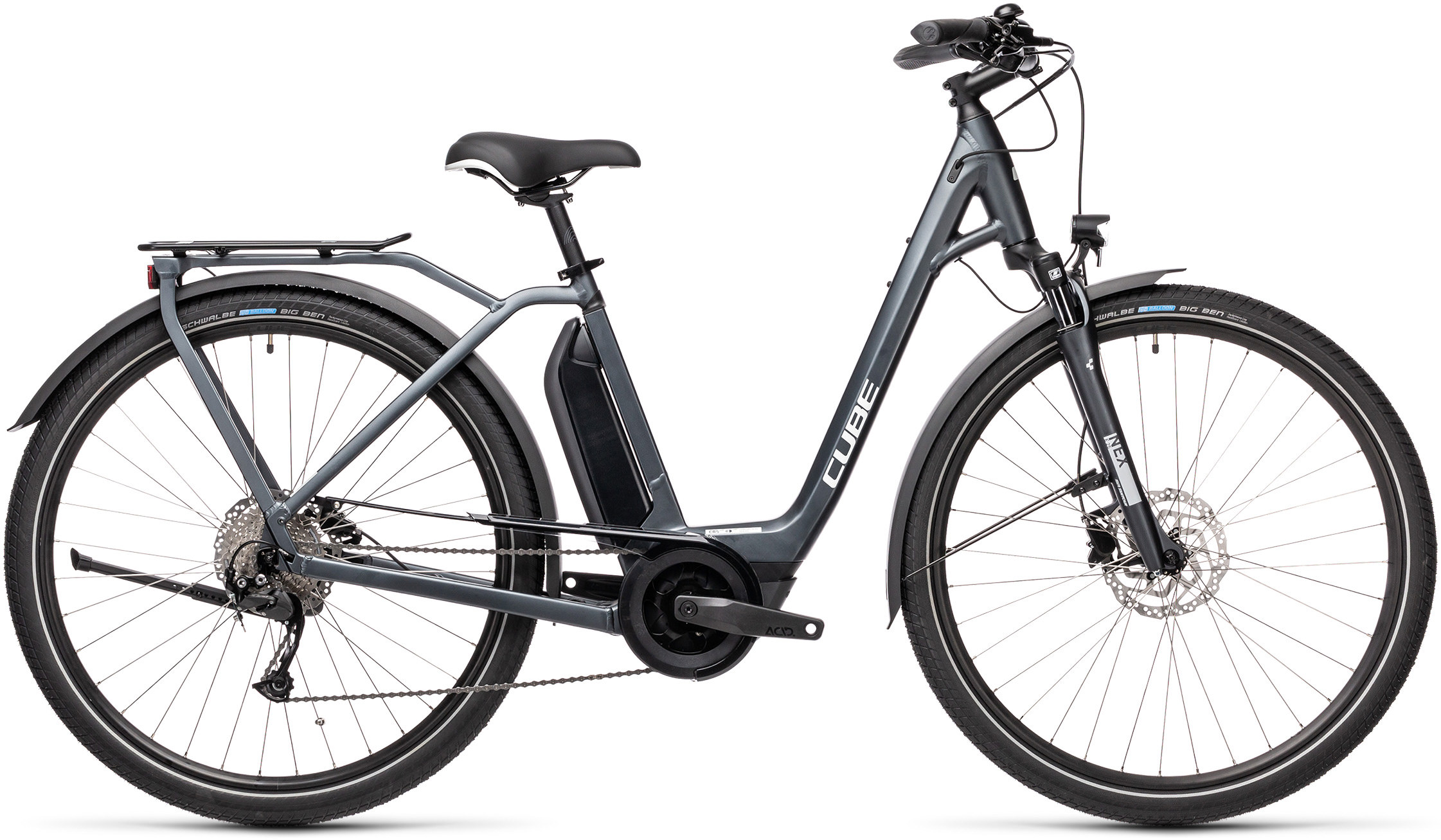 Town Sport Hybrid ONE 400 iridium´n´grey | Vélo Station