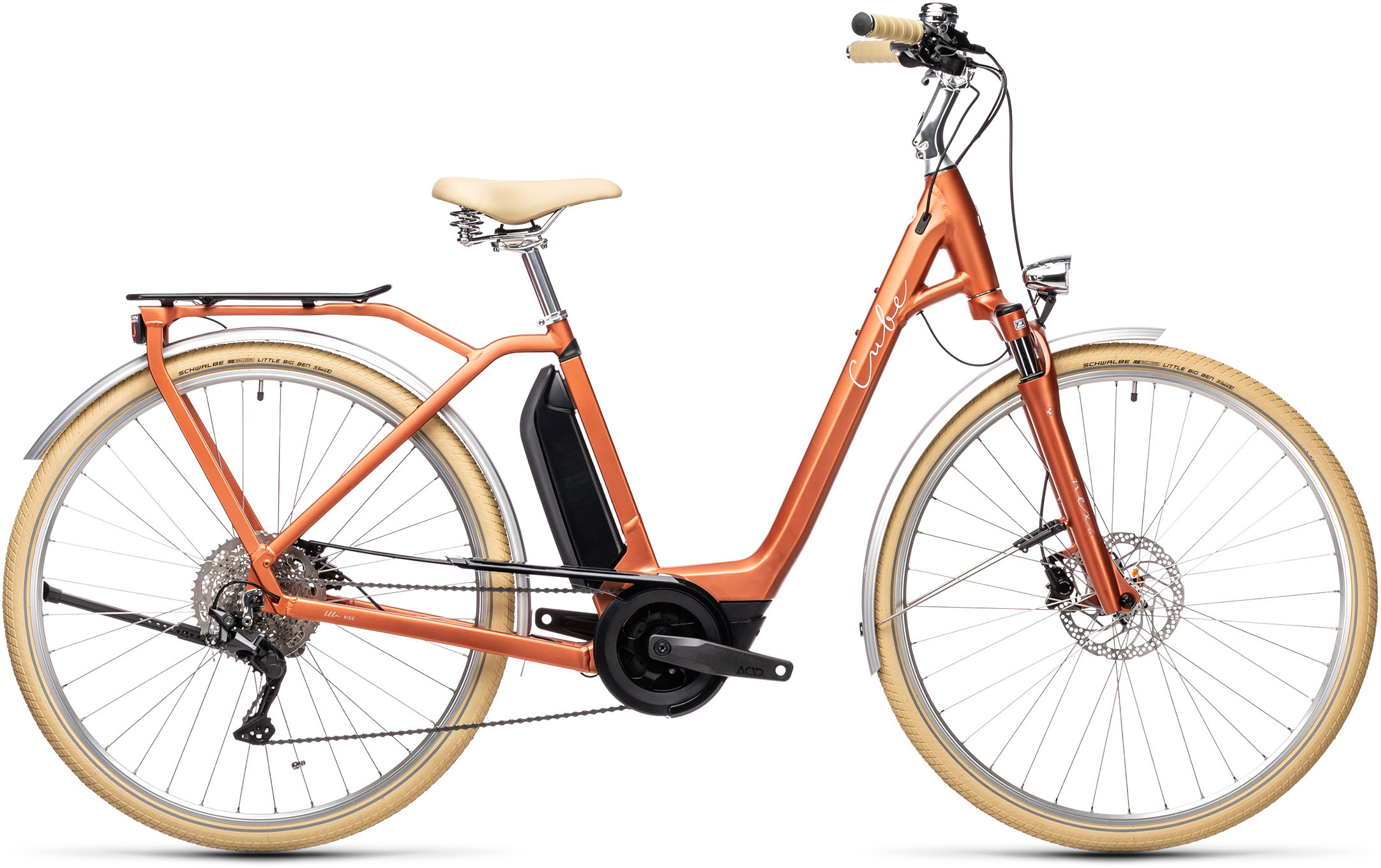 Ella Ride Hybrid 500 red´n´grey | Bouticycle