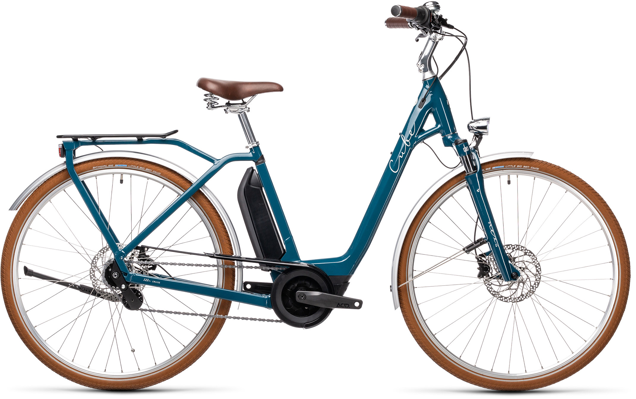 Ella Cruise Hybrid 500 petrol´n´grey | Bouticycle