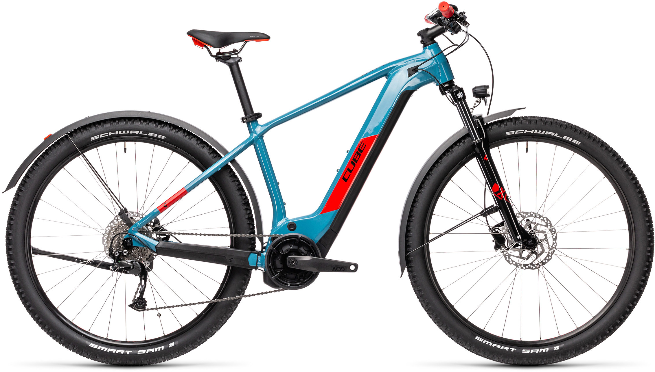 Reaction Hybrid Performance 400 Allroad blue´n´red | Bouticycle
