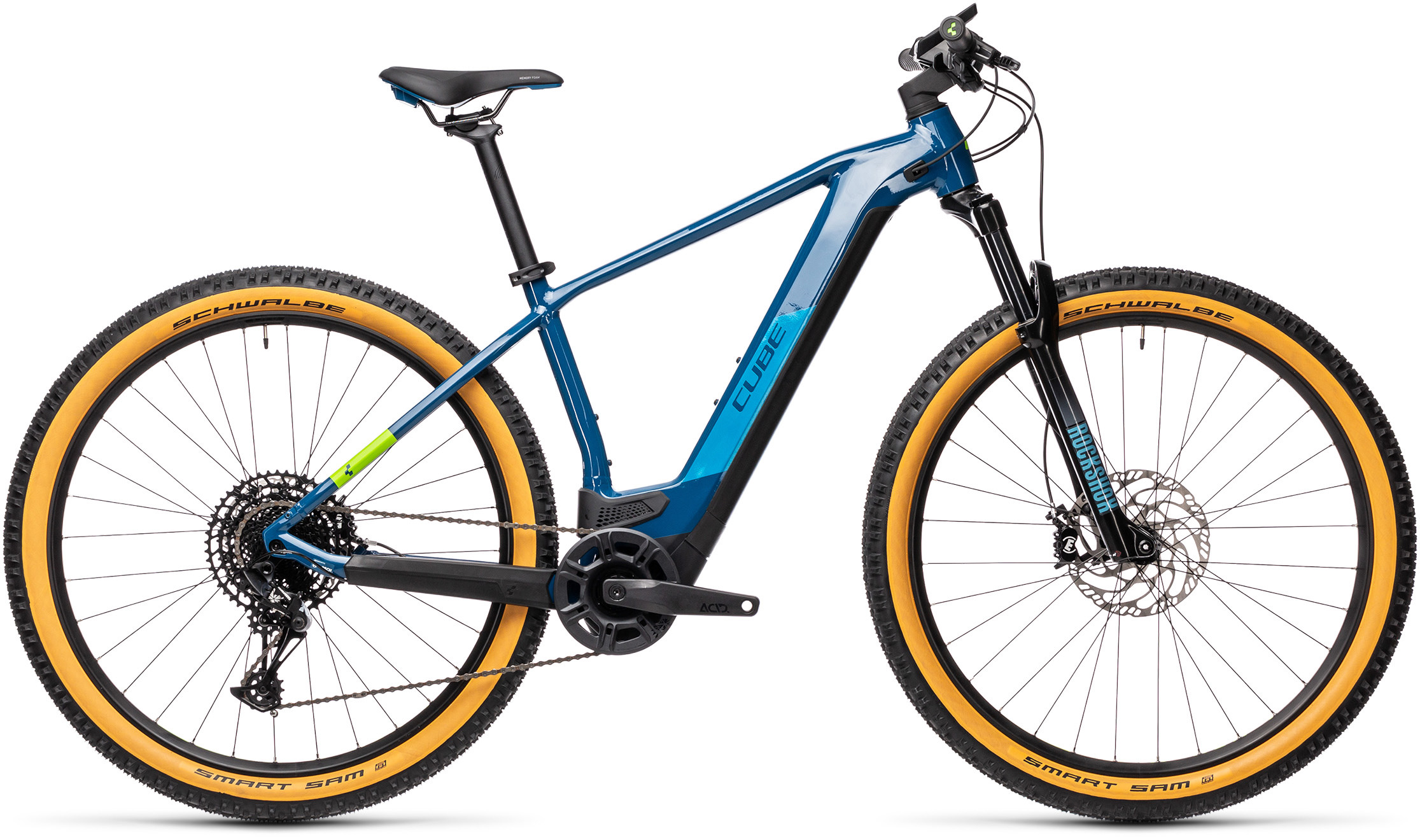 Reaction Hybrid SL 625 29 blue´n´green | Bouticycle