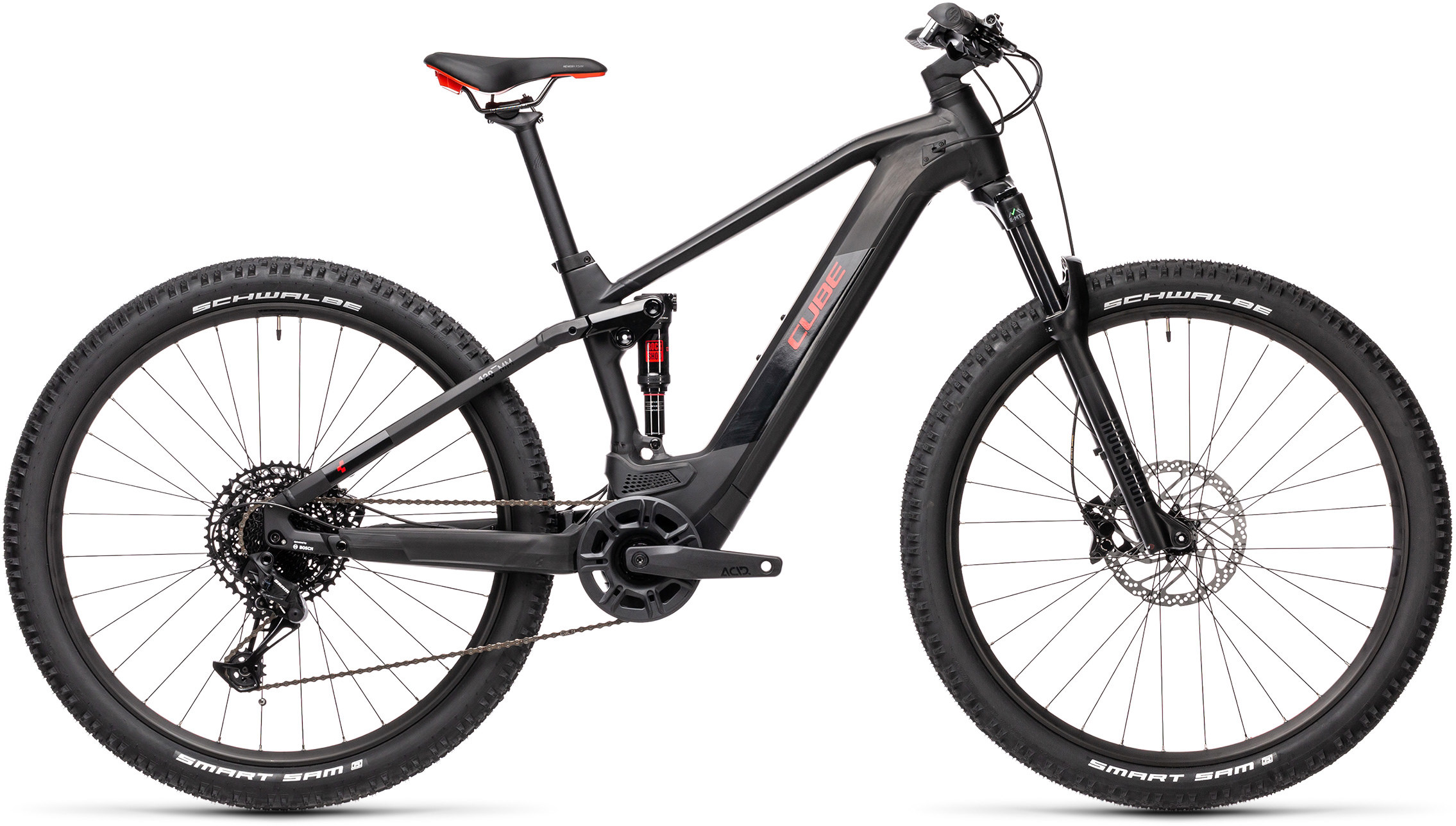 Stereo Hybrid 120 Pro 500 black´n´red | Bouticycle
