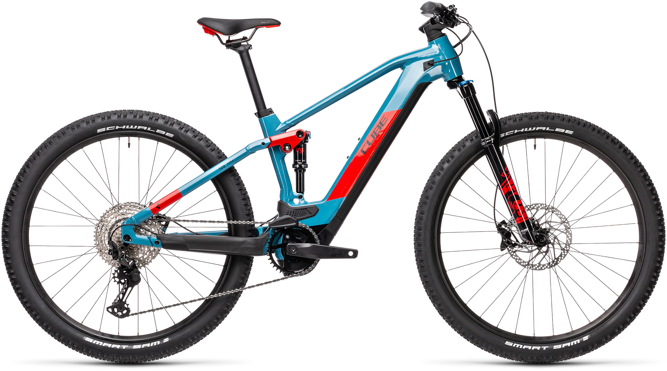 Stereo Hybrid 120 Race 625 blue´n´red | Bouticycle