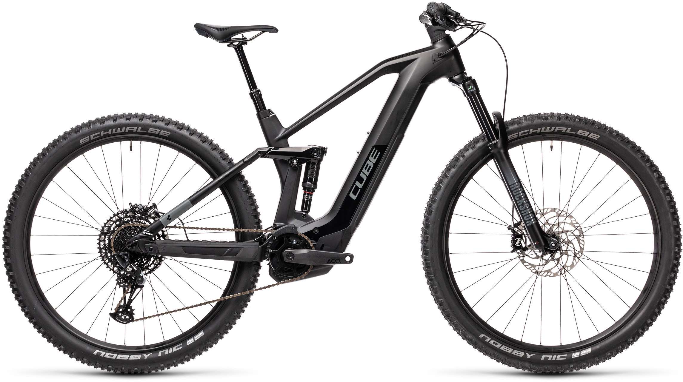 Stereo Hybrid 140 HPC Race 625 black´n´grey | Bouticycle