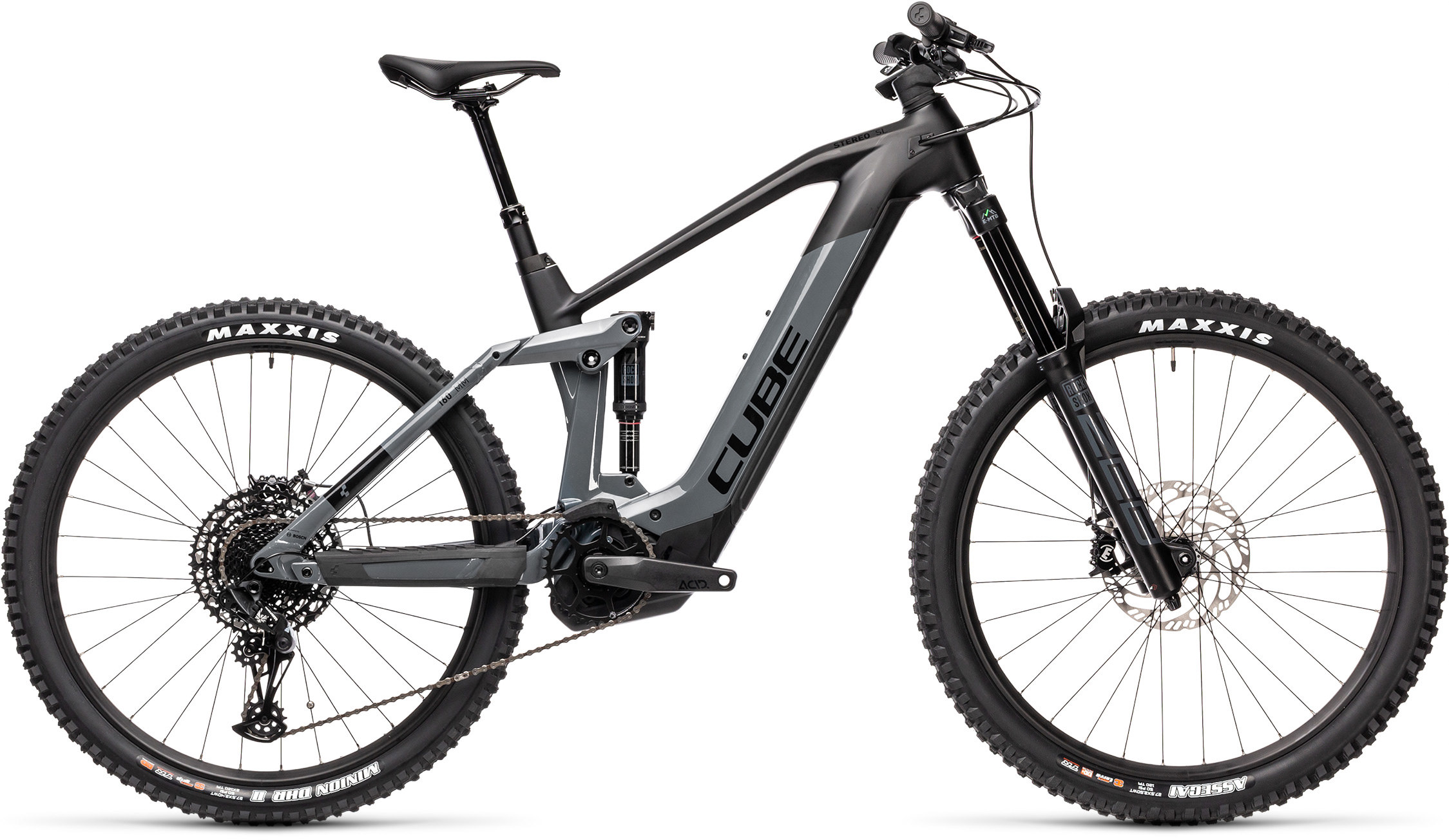 Stereo Hybrid 160 HPC SL 625 27.5 grey´n´black | Bouticycle