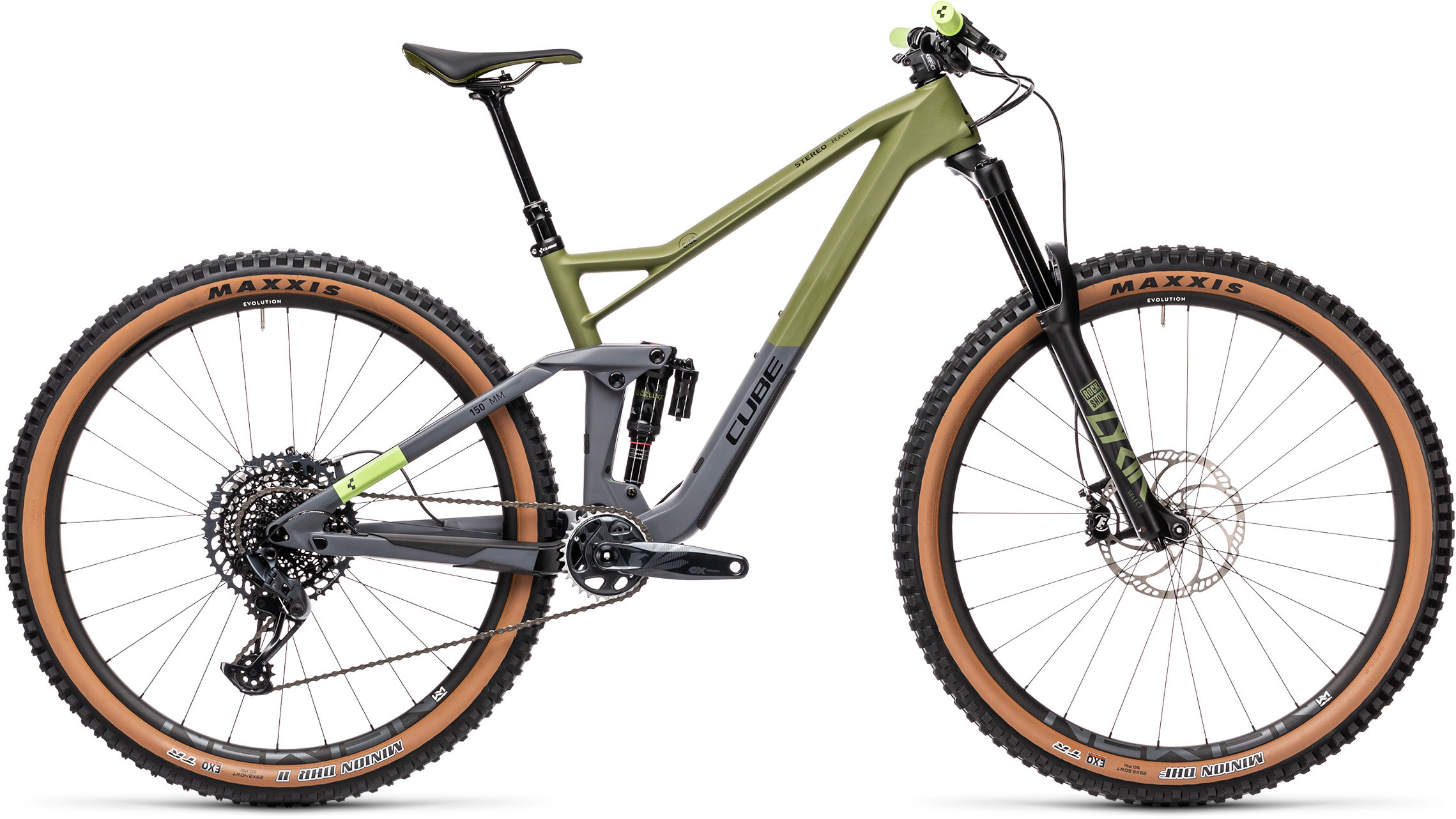 Stereo 150 C:62 Race 29 olive´n´grey | Bouticycle
