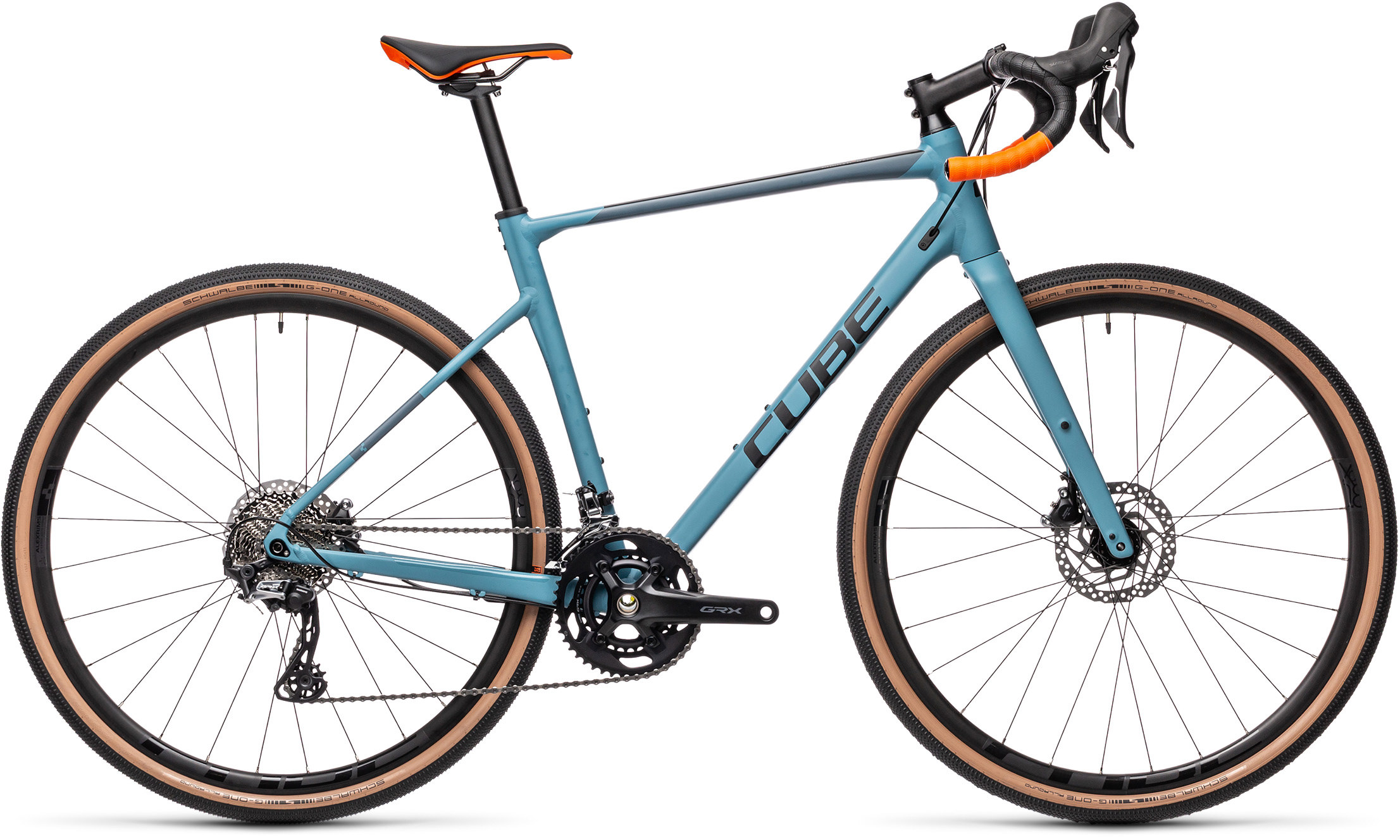 Nuroad Race greyblue´n´orange | Bouticycle