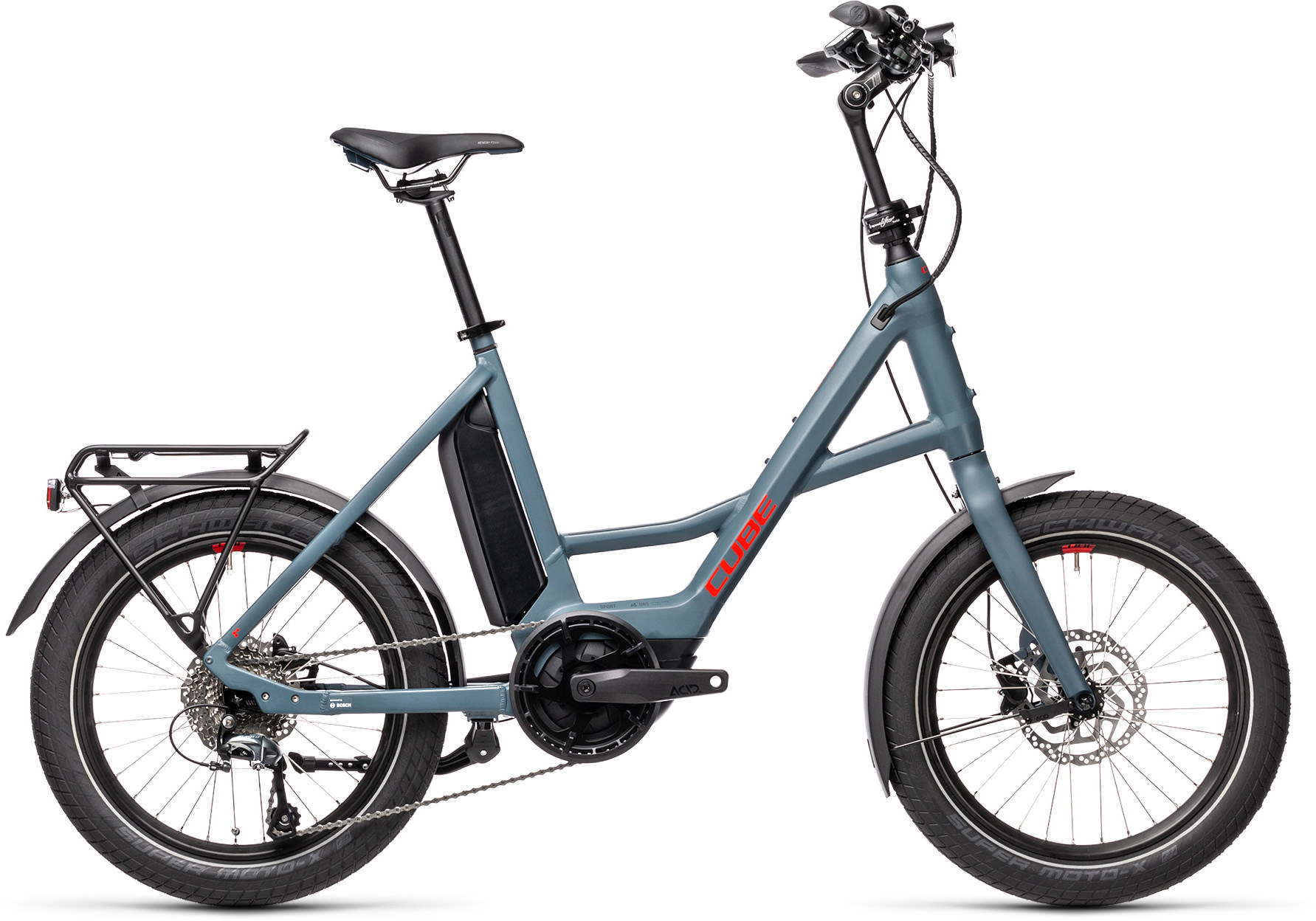 Compact Hybrid Sport blue´n´red | Vélo Station