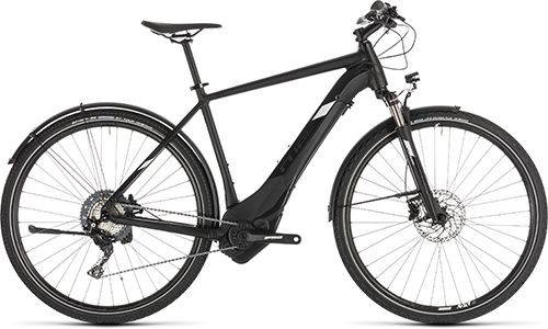 Cube Cross Hybrid Race 500 Allroad black´n´white - 2019