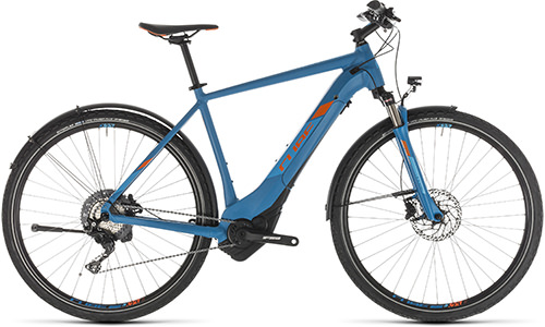 Cube Cross Hybrid Race 500 Allroad blue´n´orange - 2019