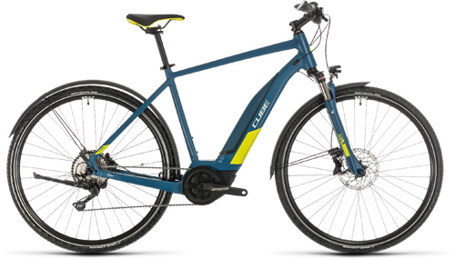 Cube Nature Hybrid EXC 500 Allroad blue´n´lime - 2020