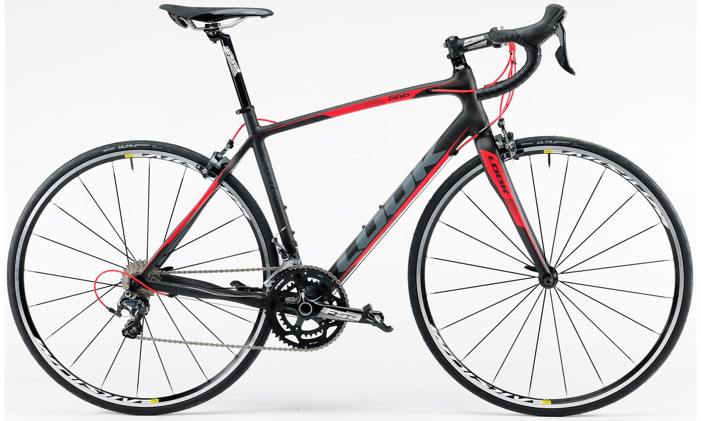 566 CARBON RED ULTEGRA 10V MIX TP | Culture Vélo