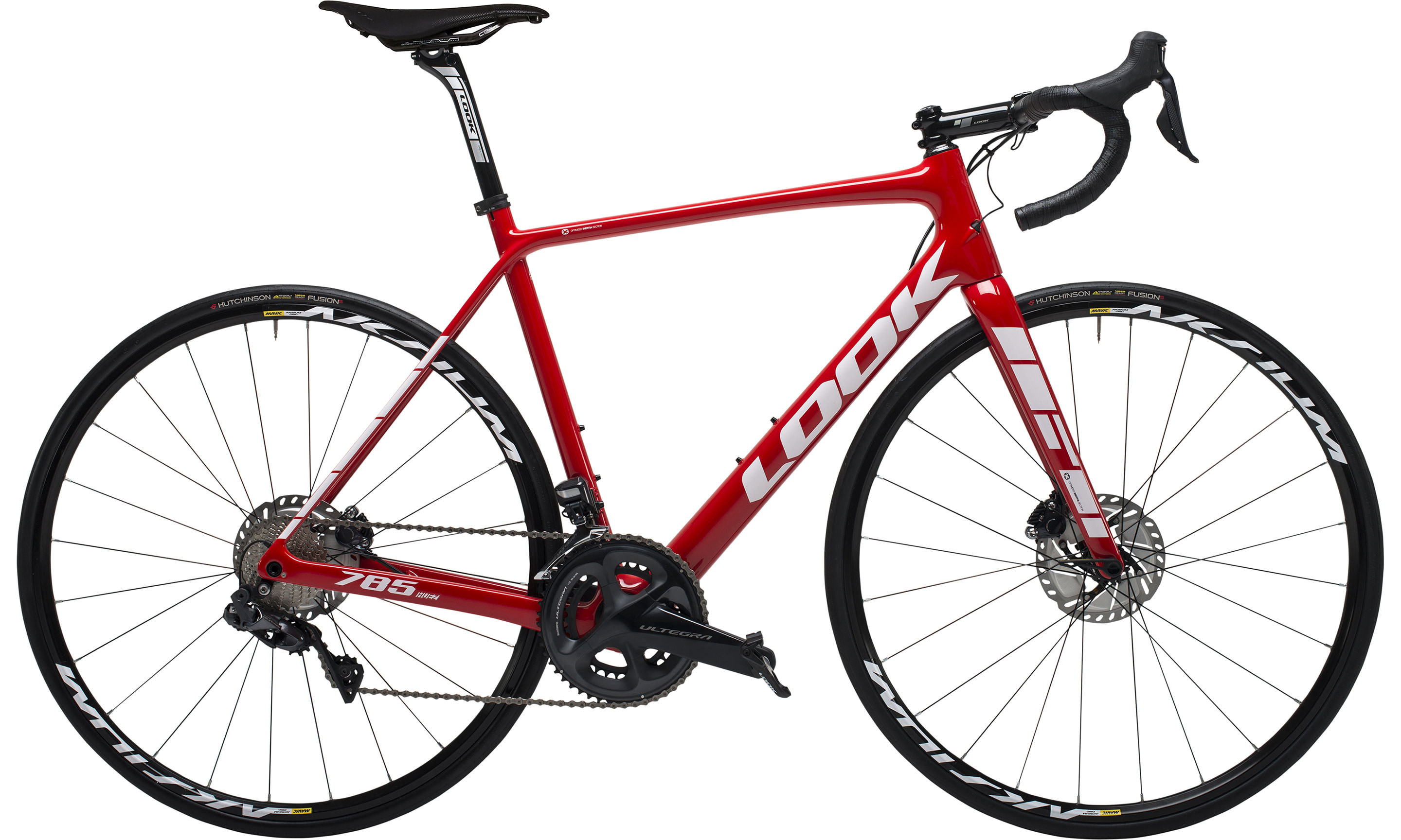 785 HUEZ DISC RED GLOSSY | Culture Vélo