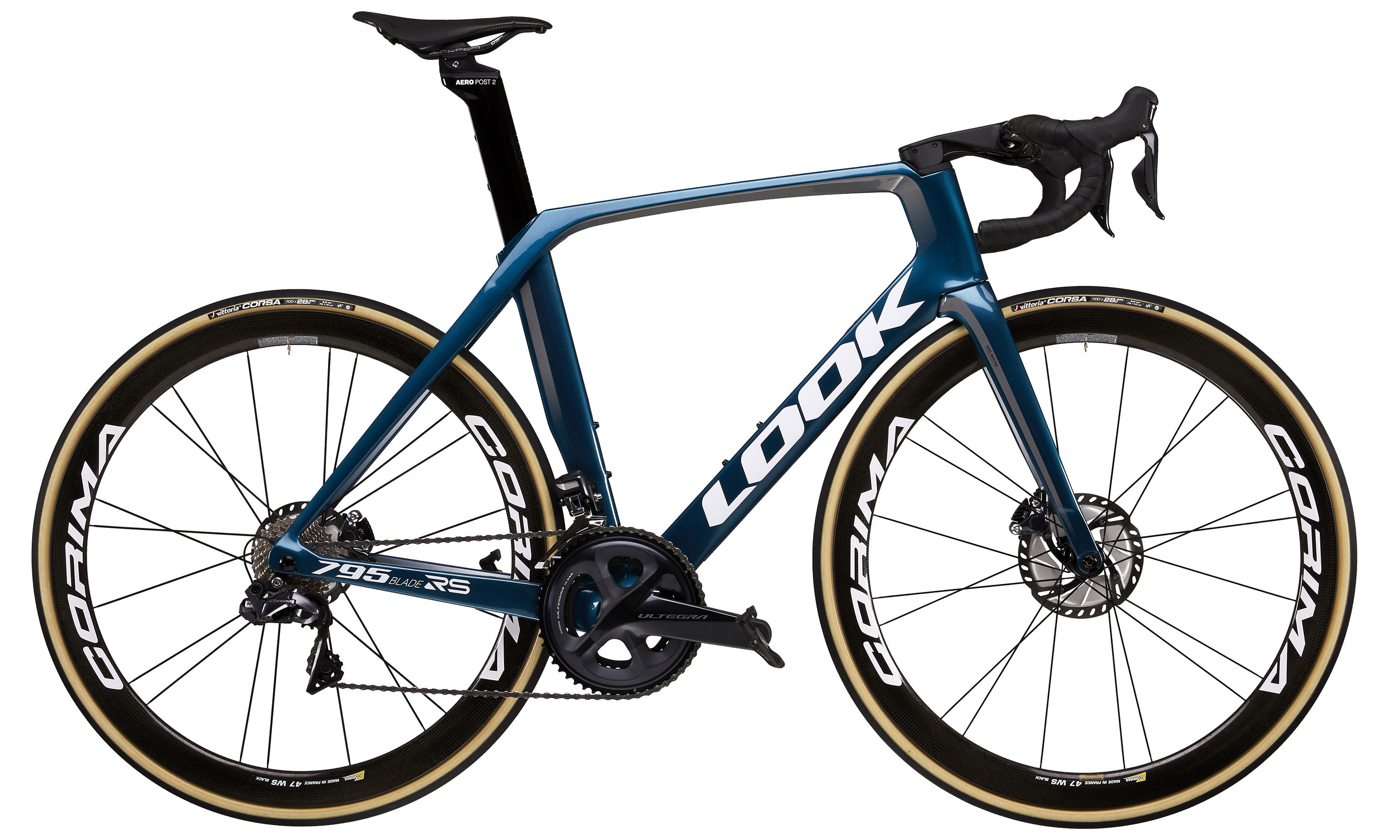 795 BLADE RS DISC METALLIC BLUE GLOSSY | Culture Vélo