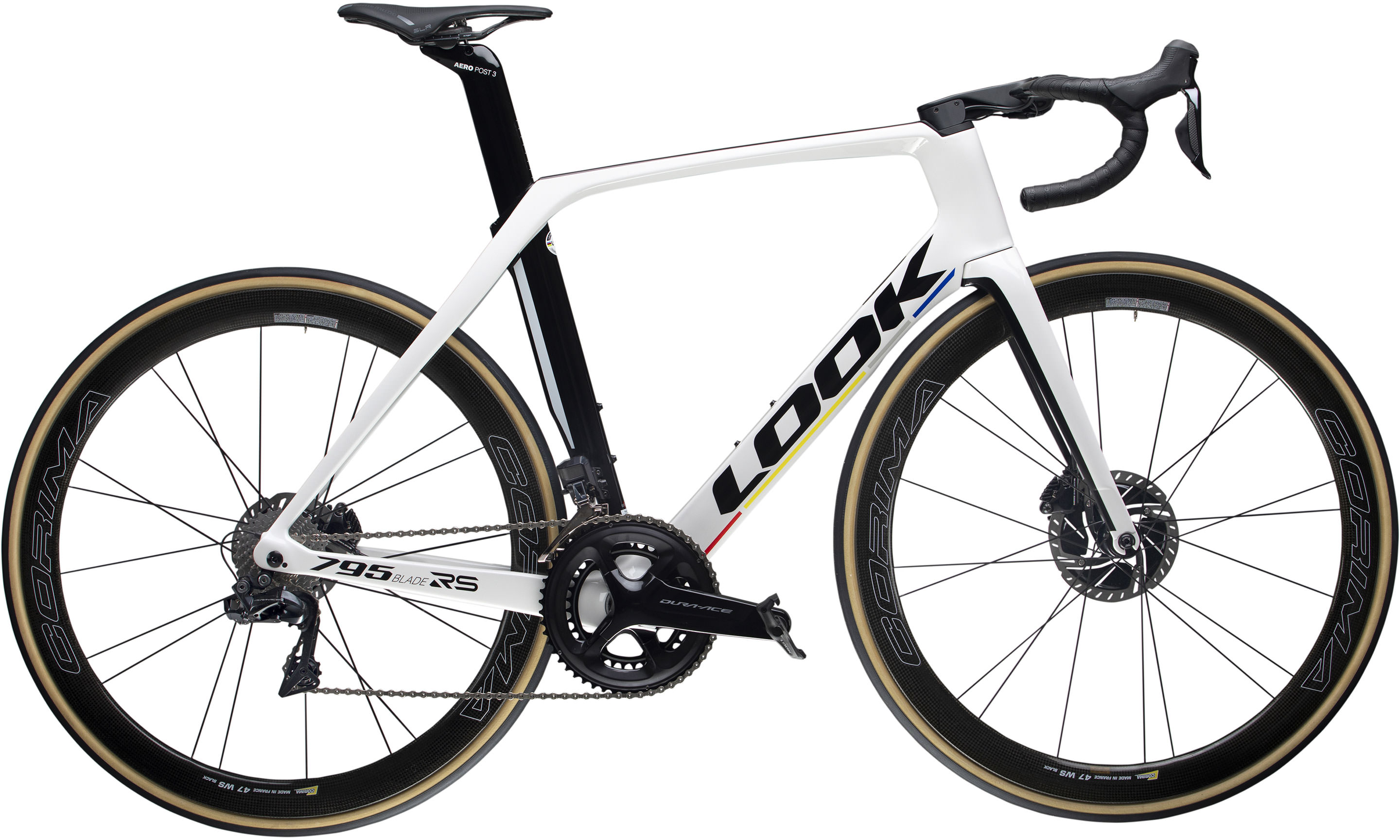 795 BLADE RS DISC PROTEAM METALLIC WHITE GLOSSY | Culture Vélo
