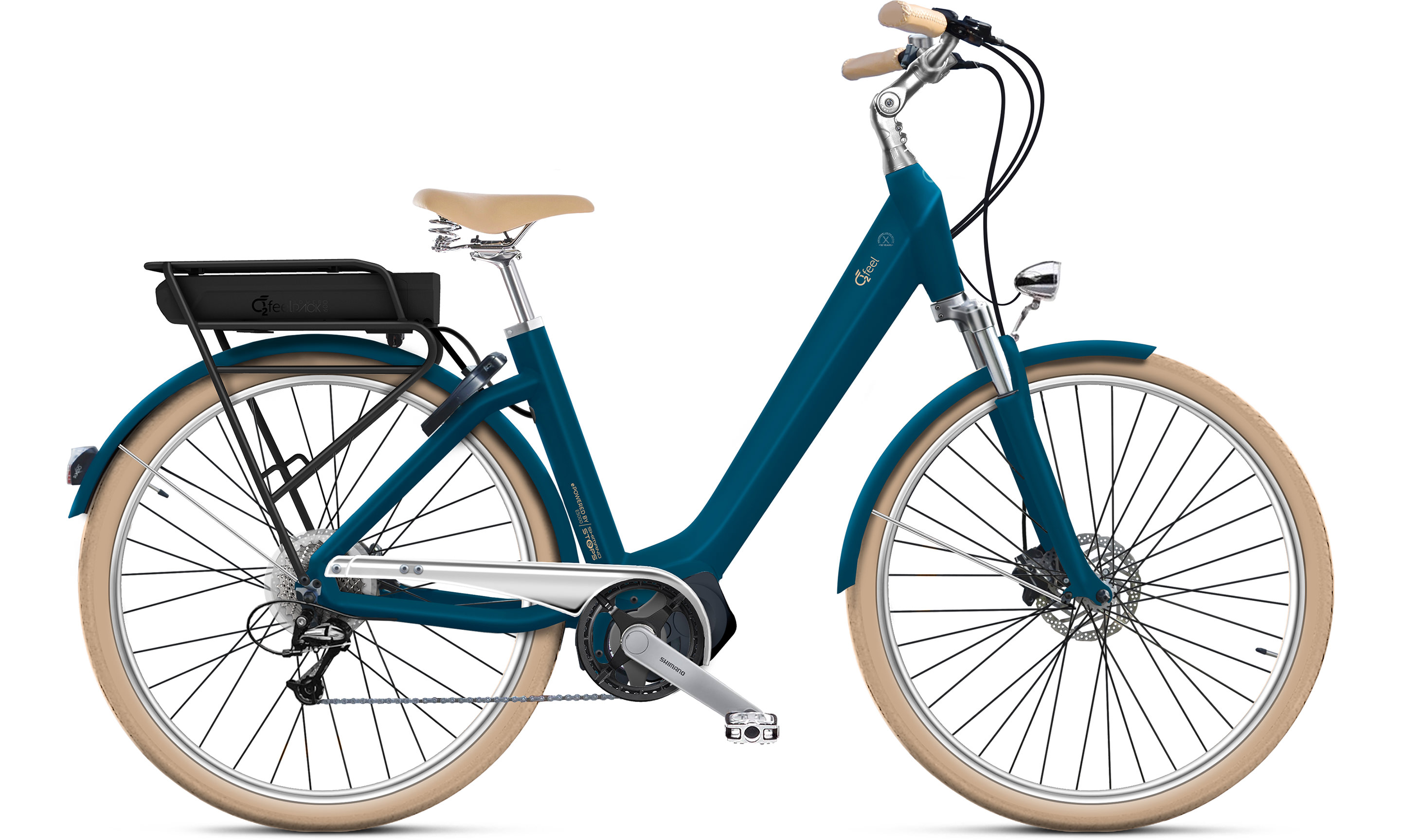 Swan D8 - E5000 | Bouticycle