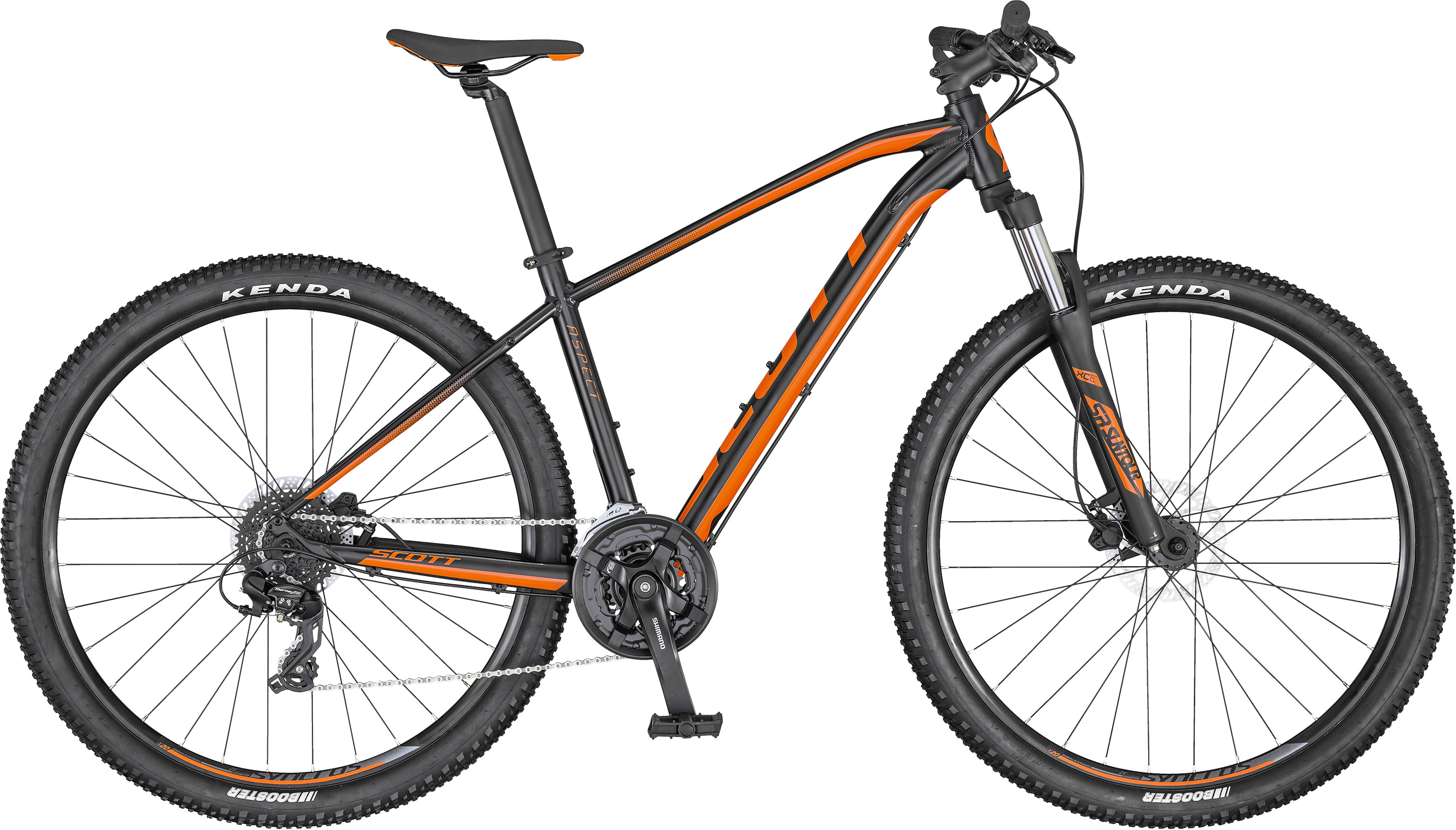 Aspect 760 black/orange | Culture Vélo