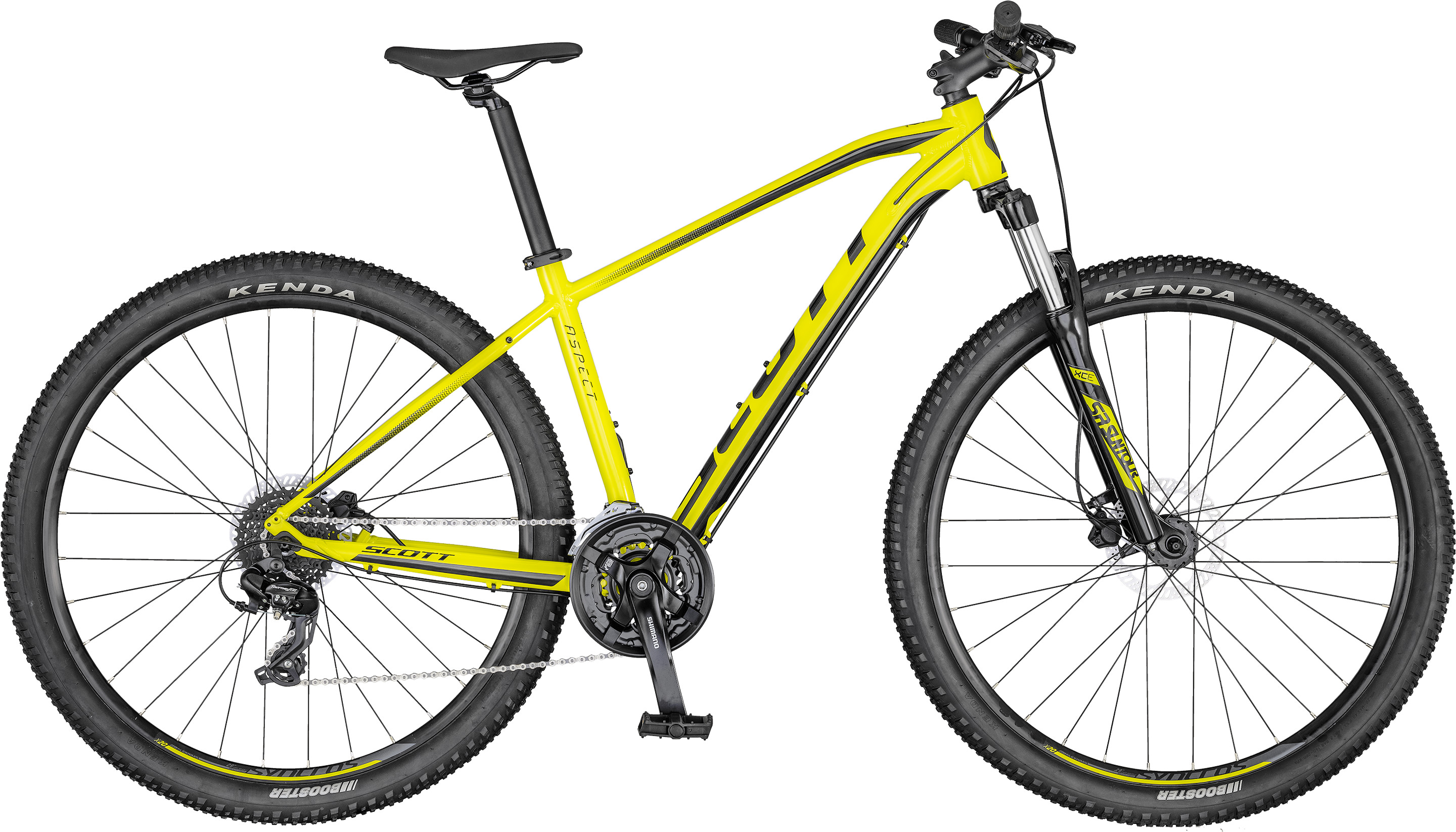 Aspect 760 yellow/black | Culture Vélo