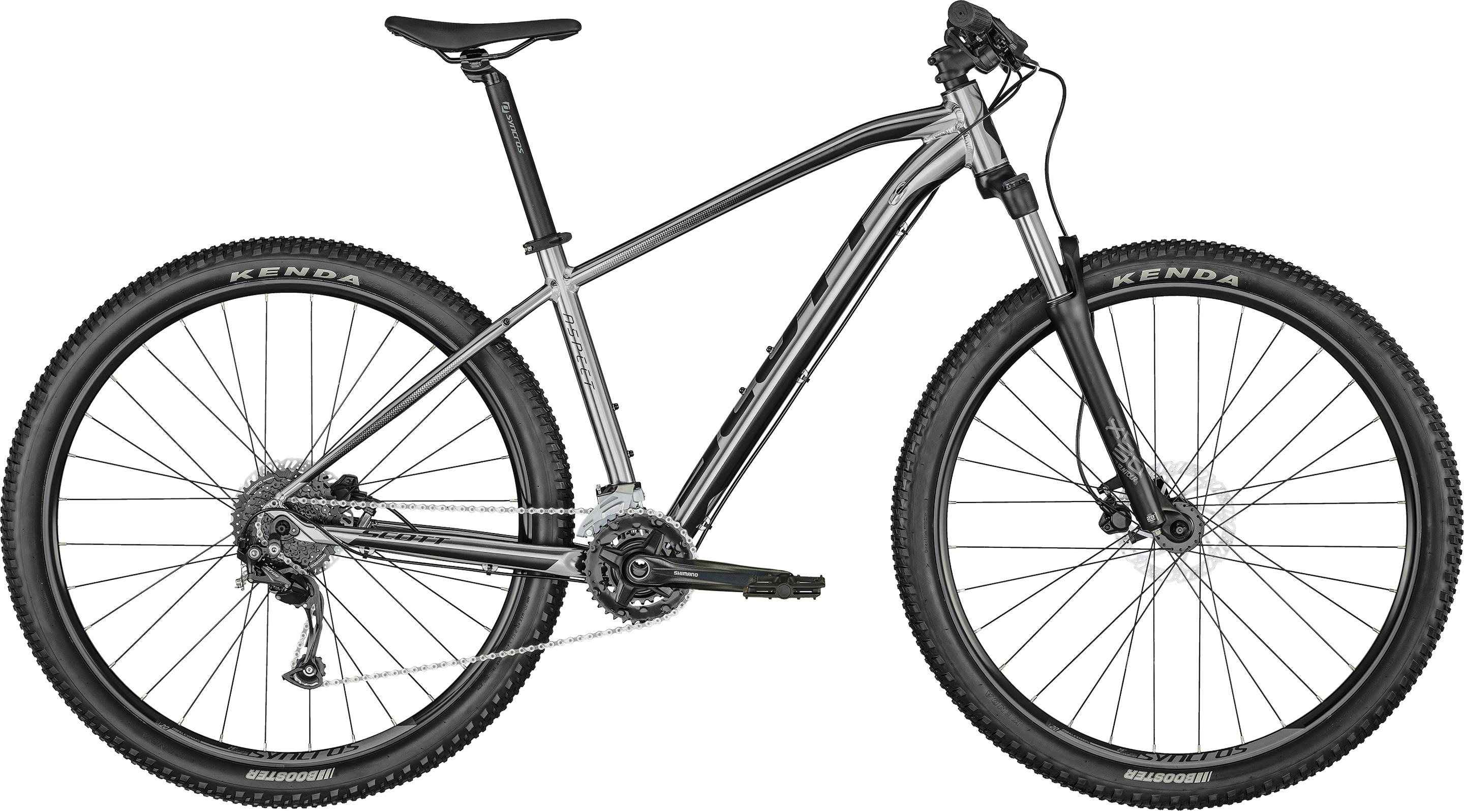 Aspect 750 slate grey | Culture Vélo